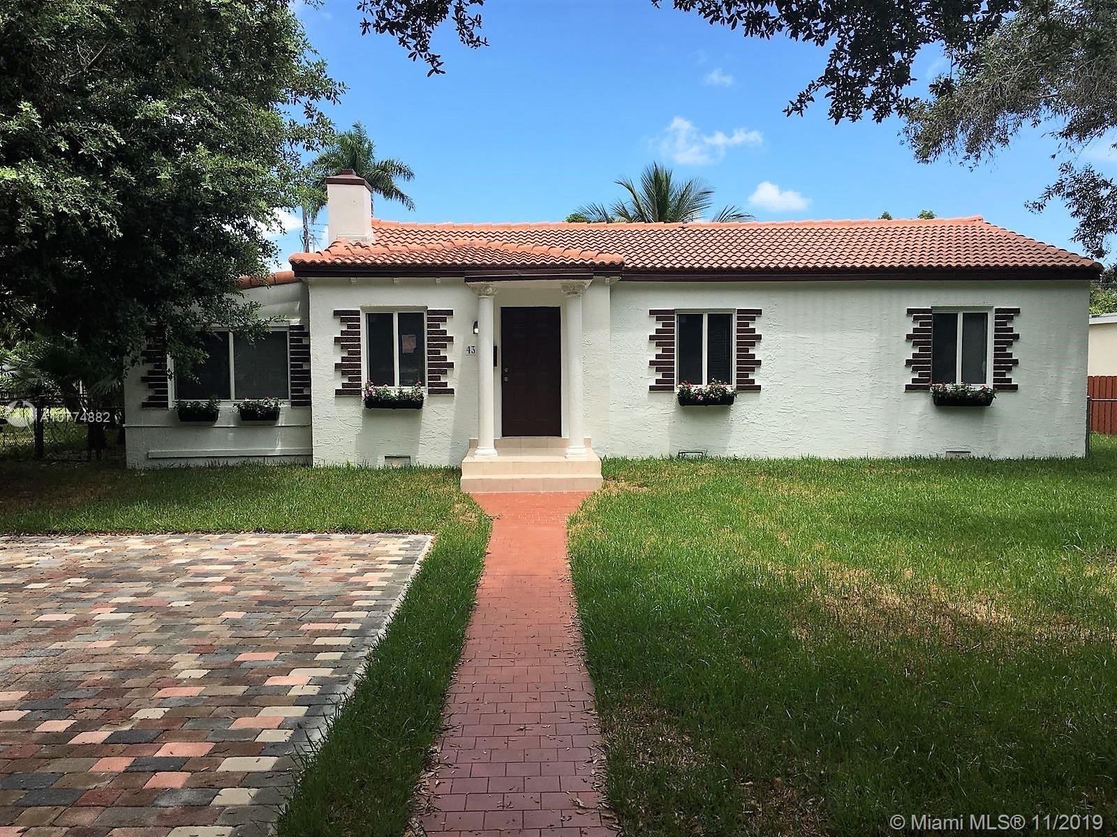 43 NW 110th St  For Sale A10774882, FL