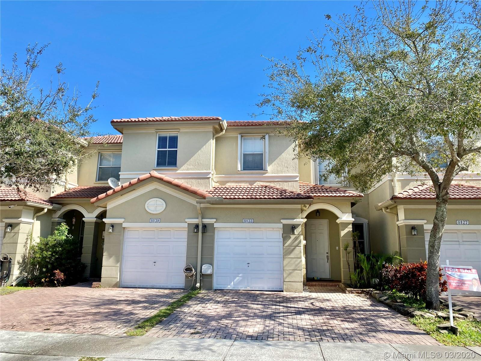 8133 NW 108th Pl  For Sale A10774950, FL
