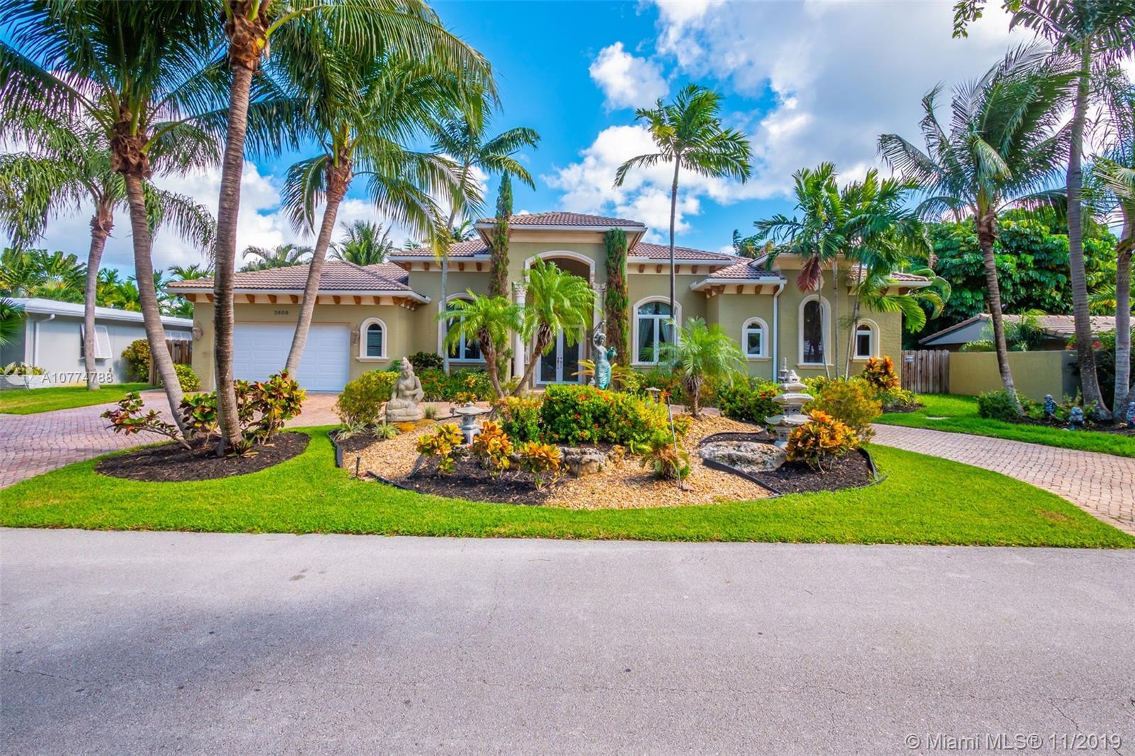 2608 NE 27th Way  For Sale A10774788, FL