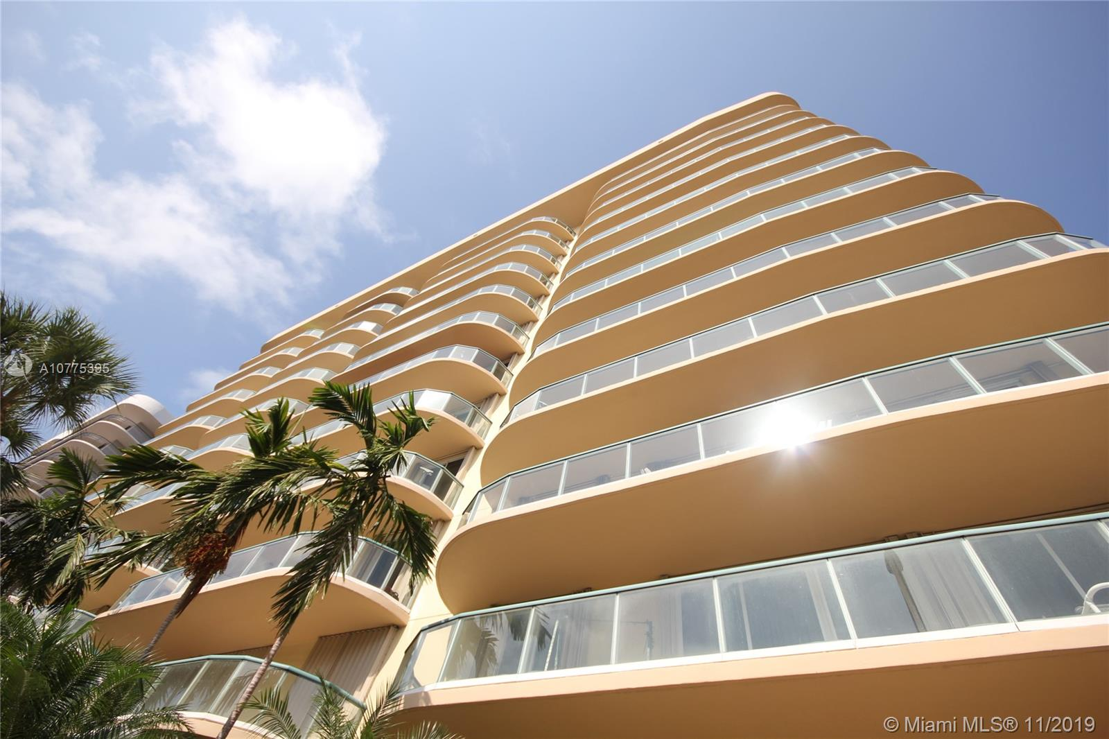 8855  Collins Ave #4G For Sale A10775395, FL