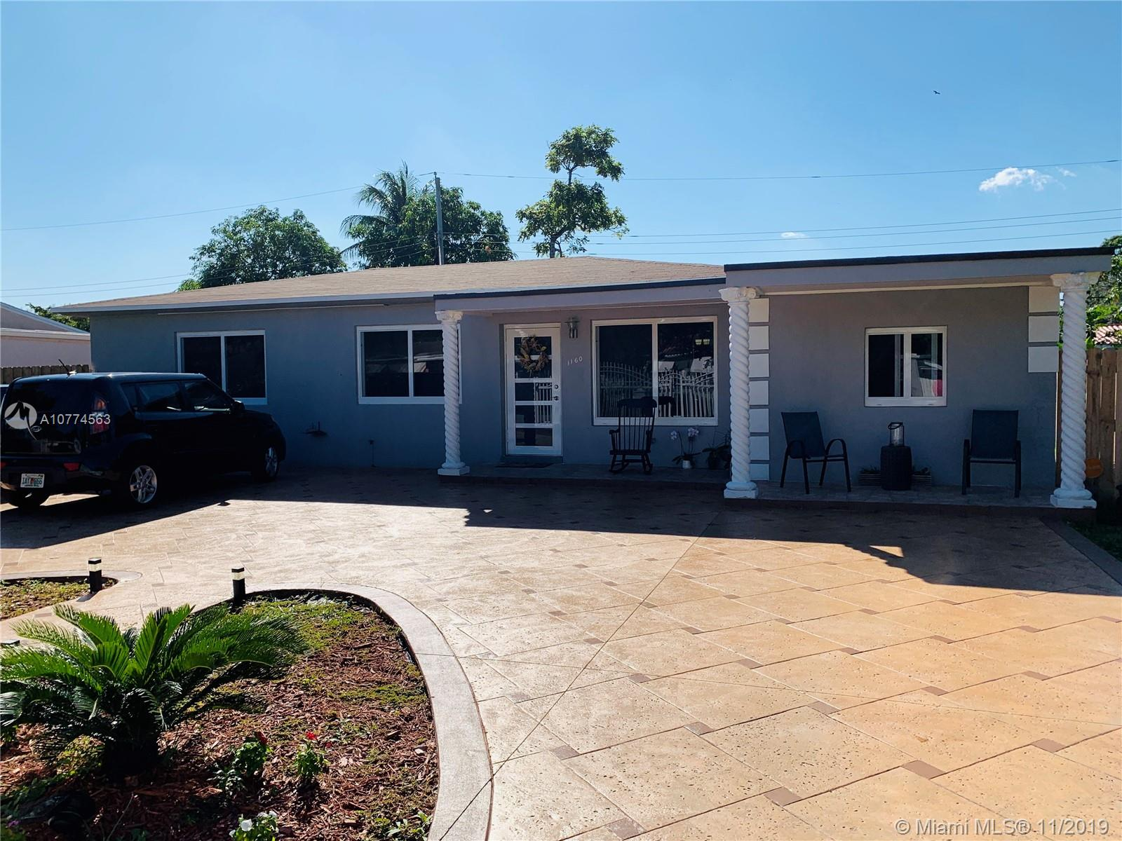 1160 NW 128th St  For Sale A10774563, FL