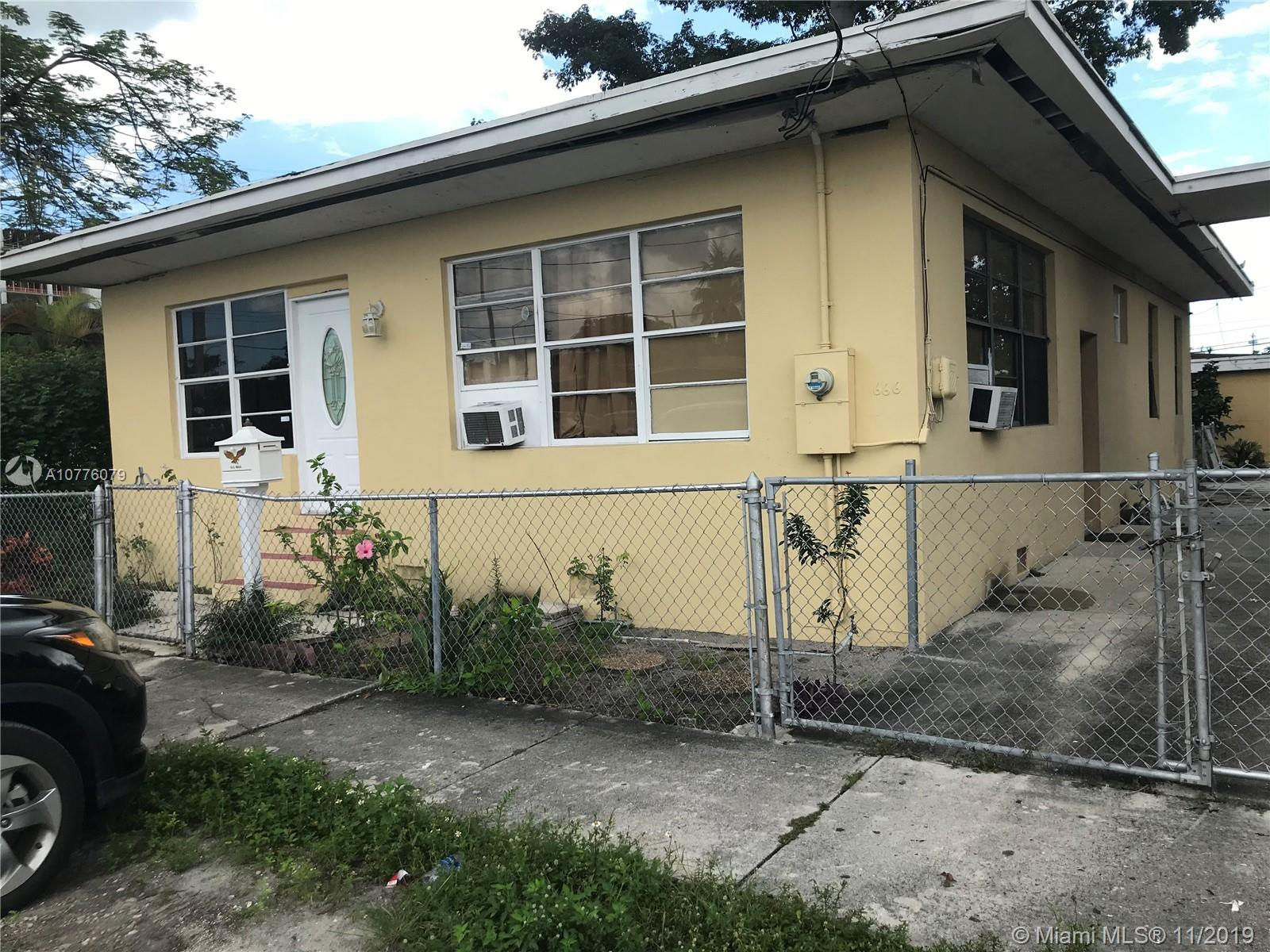 666 NW 28 St  For Sale A10776079, FL