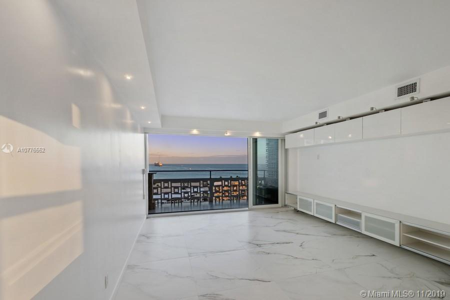 JUST REDUCED, MOTIVATED SELLER MAKE AN OFFER! Enjoy Direct Ocean views from your completely remodeled unit. Features a modern kitchen, marble counter tops, top of the line appliances, smart induction cook top, oven & microwave are neatly tucked away in wall. Kitchen floor plan was opened to maximize the space. Impact windows & stackable sliding glass door, 24x24 porcelain tile floors, and wood floors in bedroom. Customized remote controlled shades. Bathroom remodeled w/ceiling mounted rain shower head. Minutes to the beach, enjoy cruise ships leaving Port Everglades. Breakwater Towers offers 24 hour lobby concierge, security, heated pool, BBQ, gated parking. Close to Airport, shopping, and dining. Co-op Financing is available. No rentals allowed. Come see this hidden gem in Harbour Isles!