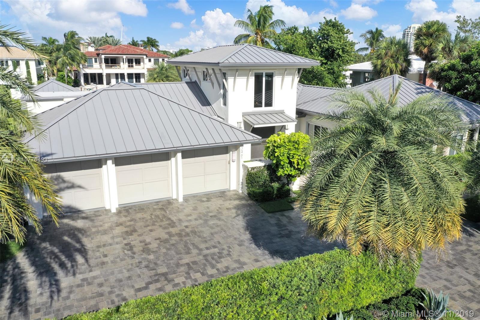 2461  Del Lago Drive  For Sale A10776493, FL