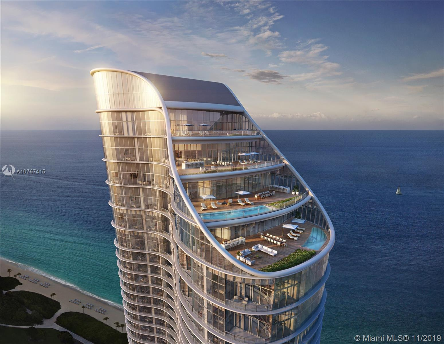 15701  Collins Ave #1605 For Sale A10767415, FL