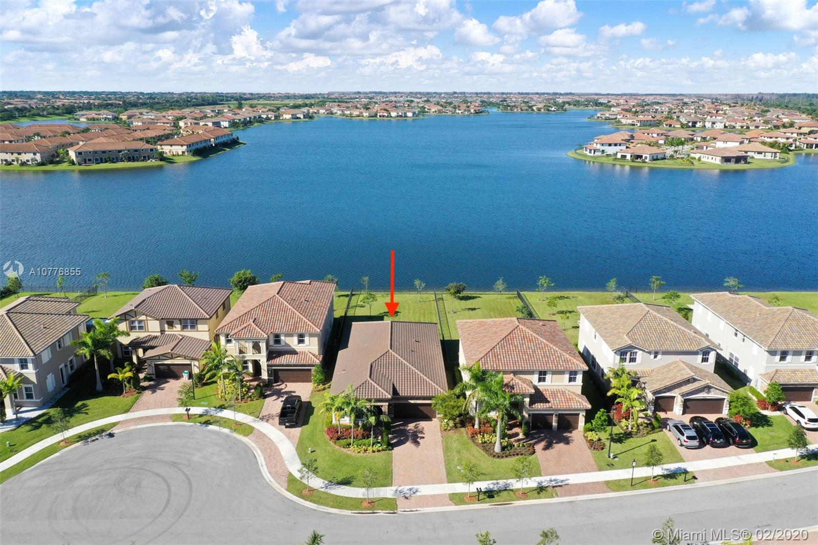 Welcome to this beautiful 4bdrm, 3bath lake front home located in the prestigious, gated community of MiraLago at Parkland. Enter the home through a covered entryway & step into this new construction (2017) home that offers innovative features, wide lake views & amazing sunsets! Full Security System & hurricane impact windows/doors. Home offers a private laundry room, tile & carpet throughout, 2 car garage, family room, dinning room & huge, fenced backyard! Kitchen offers an all natural gas stove, double oven, wood cabinets, granite countertops & overlooks the Family Room with access to the backyard. Master suite offers 2 walk-in closets, master bath w/ dual sinks, marble countertop, glass enclosed shower, & a Roman tub. Great amenities including a club house, pool, fitness center & more!