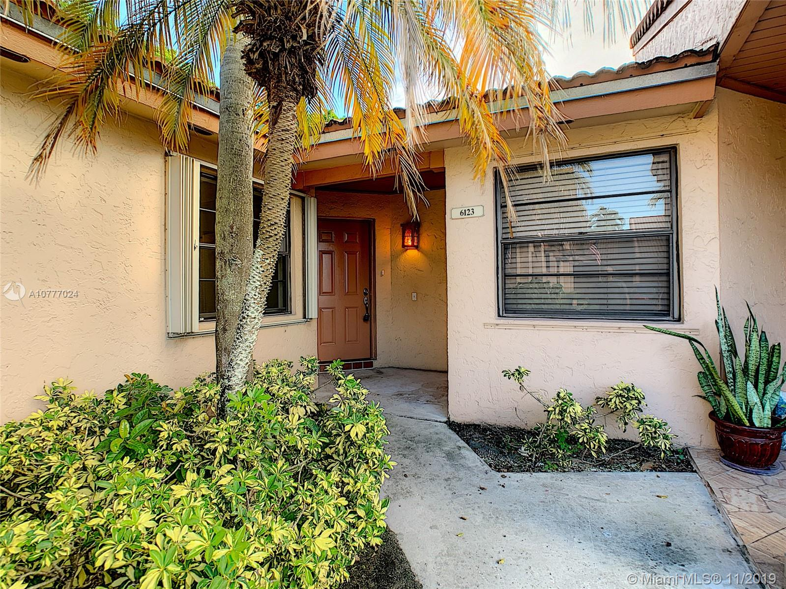 6123 NW 171st St #6123 For Sale A10777024, FL