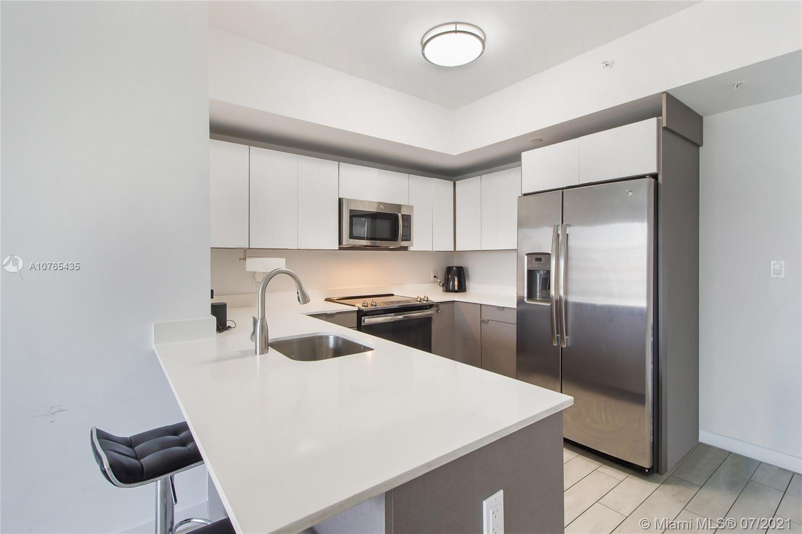 **GREAT INVESTOR OPPORTUNITY**Unit is rented for $1,950 a month until FEB 2022! Low Maintenance Fee! Boutique style building minutes from Downtown, Brickell, Midtown, Design District and much more! Beautiful 2/2 unit in the popular Edgewater neighborhood.  Unit features porcelain wood style floors, floor to ceiling impact windows and sliding doors and 9 foot ceilings.  Residents of 26 Edgewater can enjoy amenities such as rooftop pool, lounge and sun deck, fitness center and party room!