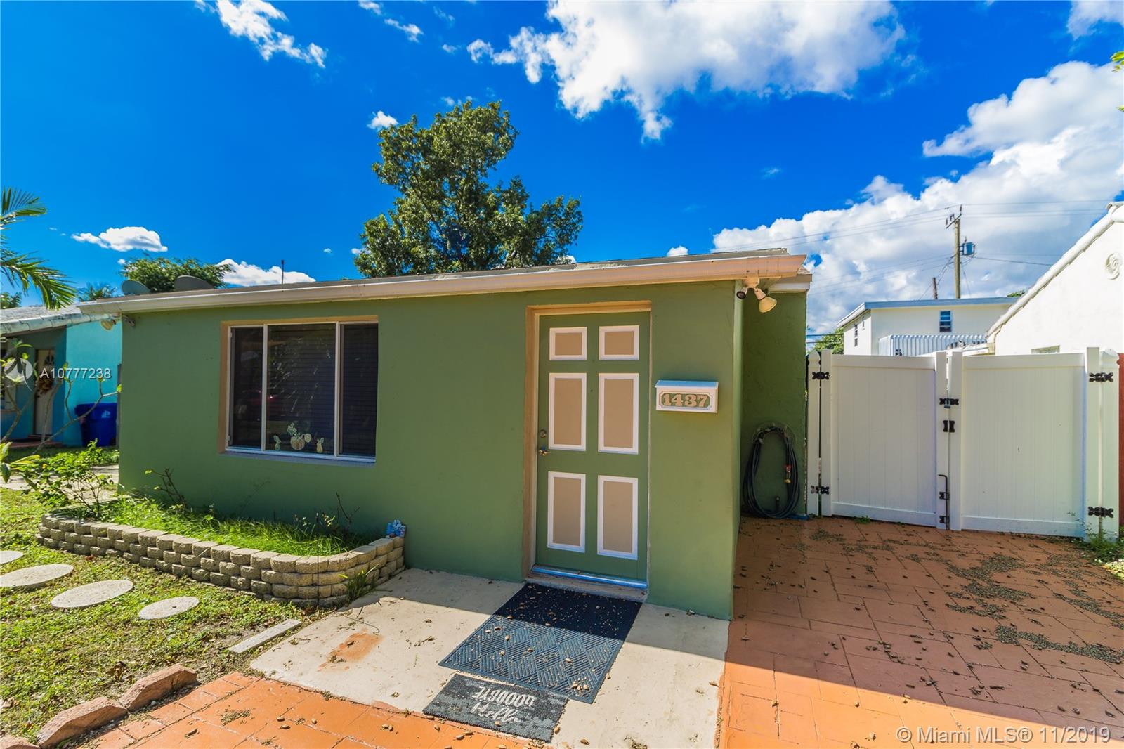 """Investor & DIY Potential. Retro 1950's 3 bedroom/1 bath in the Progresso area close to downtown Ft. Lauderdale, the beach as well all the amenities the city has to offer. Large deep backyard offers the ability to add on to the house along with a possible pool. The house has """"great bones"""" structure when houses were built to last. Needs extensive interior work. Priced to Sell As-Is. Discover the benefits of investing in this area that provides great ROI.Showings by Appointment Only with 24 hours notice."""