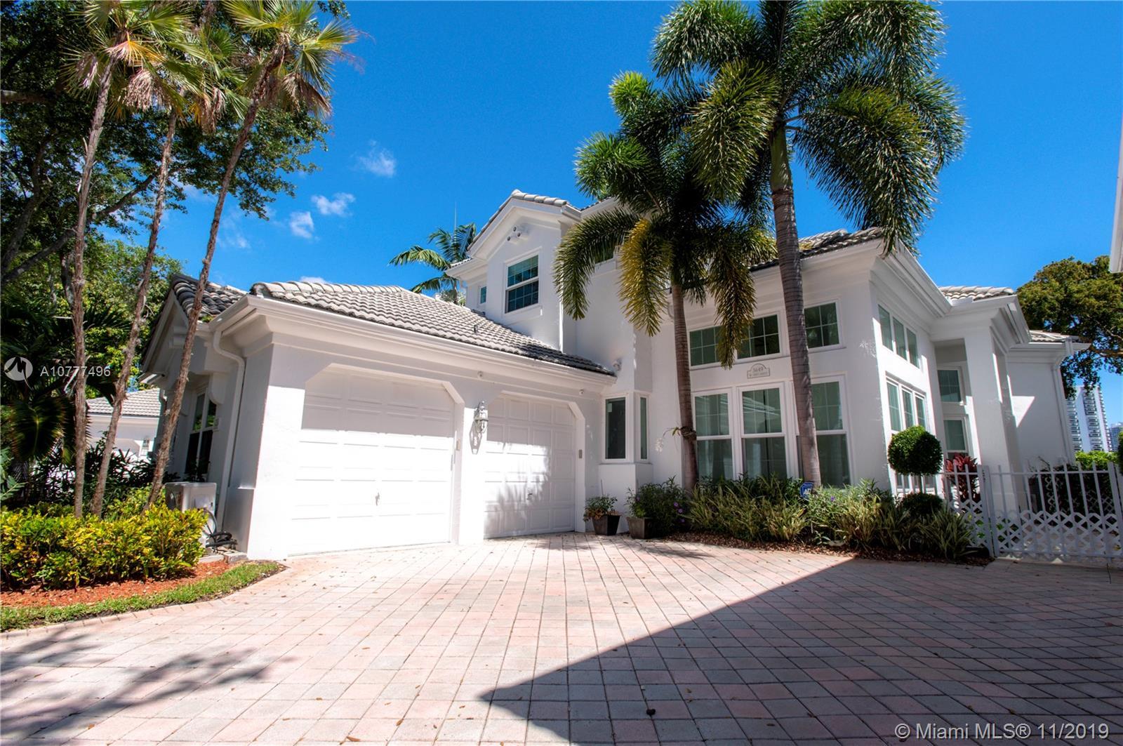 3649 NE 201 Street  For Sale A10777496, FL