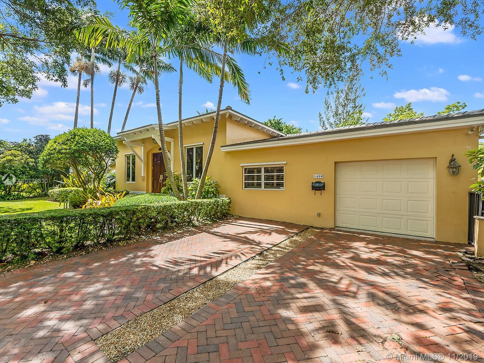 1400  Sorolla Ave  For Sale A10778330, FL