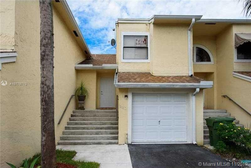 Very modern two story, 2 bedroom & 2 1/2 bathroom townhome in one of the best areas of Pembroke pines. Lots of brand new shopping & dinning centers being developed within walking distance. New buyer's will have it all within minutes. Updated kitchen & bathrooms, one car garage, nice patio & very bright living room.