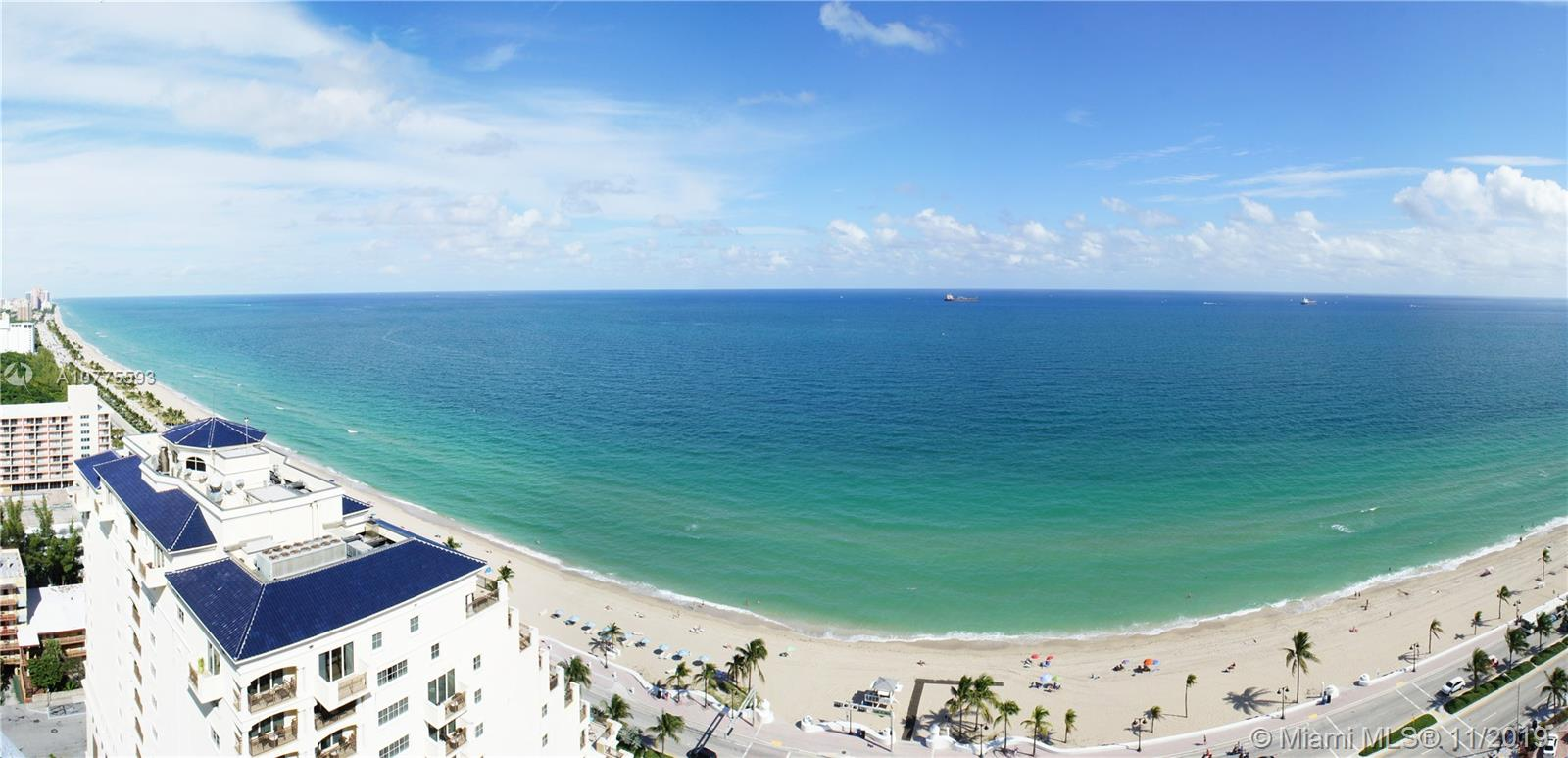 551 N Ft Lauderdale Beach Blvd #2214 For Sale A10775593, FL