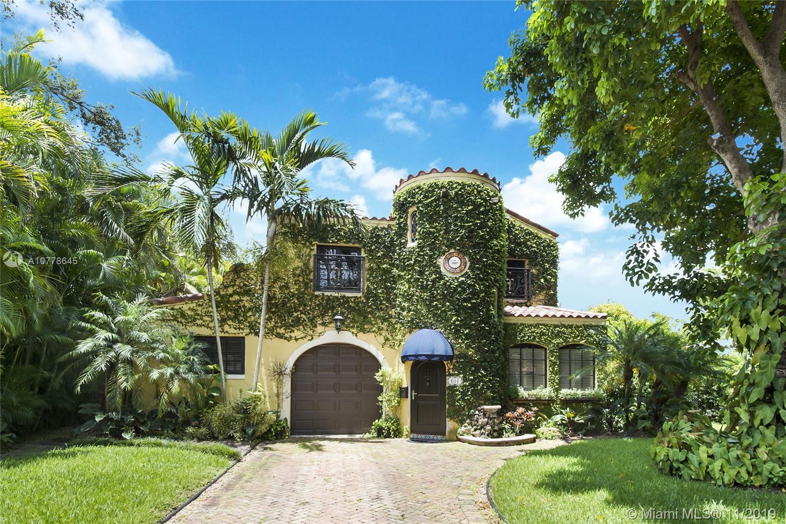 611  San Antonio Ave.  For Sale A10778645, FL