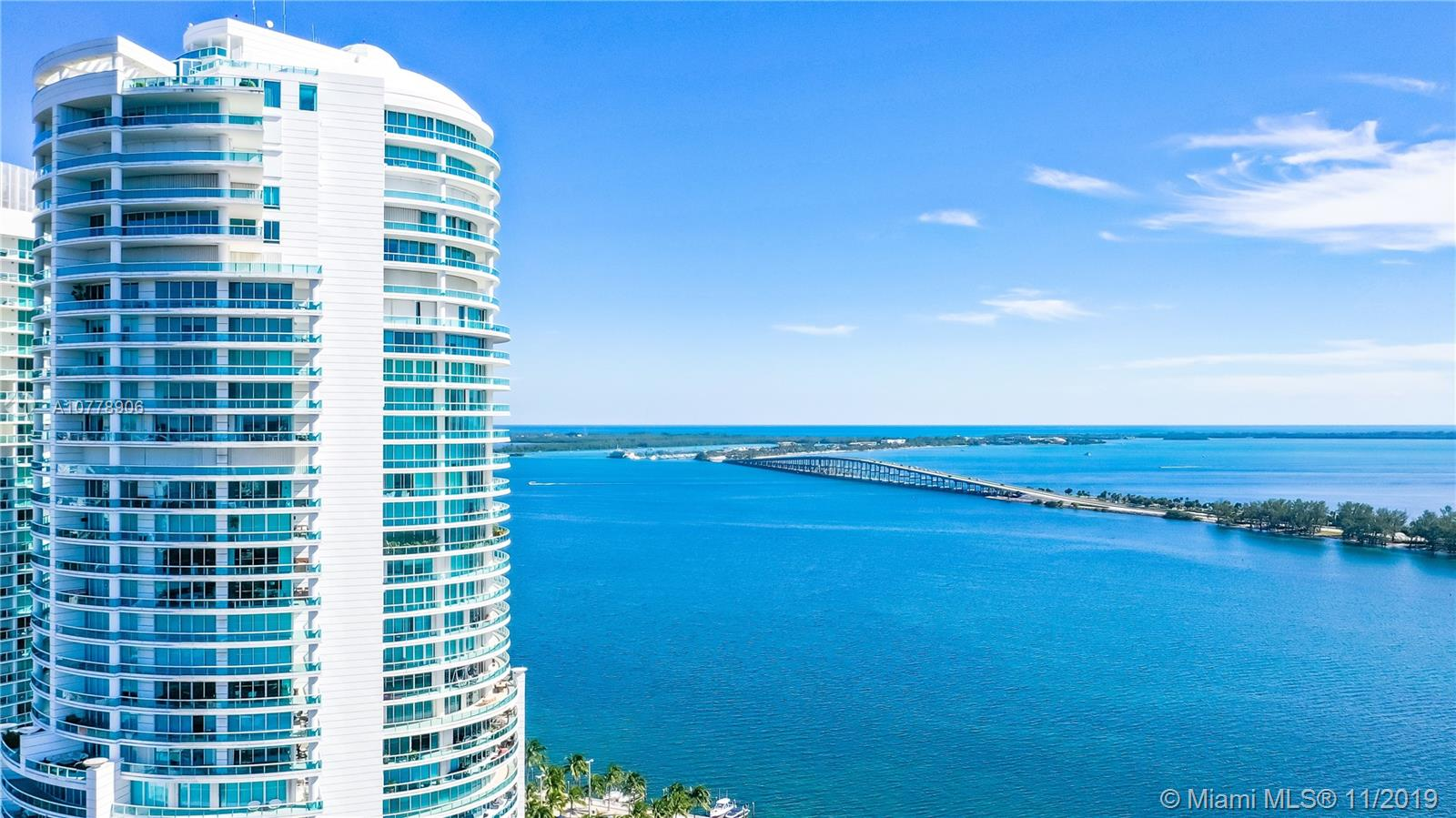 "FULLY REMODELED**Live at Bristol, one of the most exclusive buildings in Brickell. This two-story 3 BR/3.5BTHS residence with panoramic views of the Biscayne Bay from every room has been impeccably remodeled featuring: large terrace perfect for entertaining, modern kitchen with Sub Zero appliances and stone countertop, living and dining area with large porcelain tile floors, Master with private terrace with wood-like tile flooring and ""His and Hers"" walk-in closets,  two separate master bathrooms, upstairs and downstairs bedrooms both with access to terrace and private bathrooms, and a den/office. This residence feels like a house but with the perks of the amenities of a luxury building: pool, gym, tennis court, valet parking, lobby,24/7 security & convenience store. VERY MOTIVATED SELLER!"
