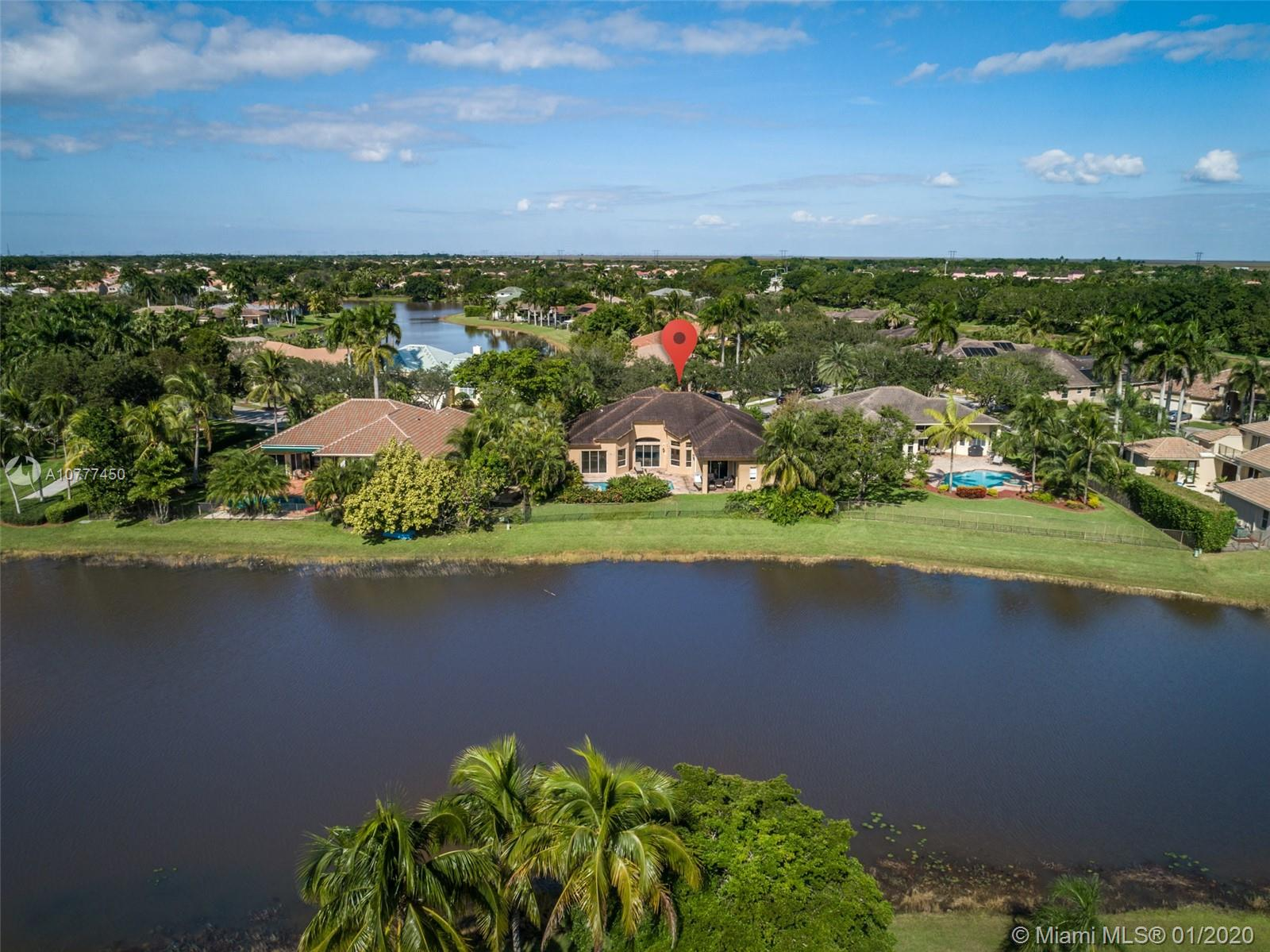 **BANK APPROVED** short sale in The Landings. 4 bed/3.5 bath/den home on 12,001sf waterfront lot with pool. Triple-split floor plan with 14' ceilings. Tile and wood flooring throughout. Open kitchen with double oven, stainless steel appliances and granite counter tops. 3-car garage.