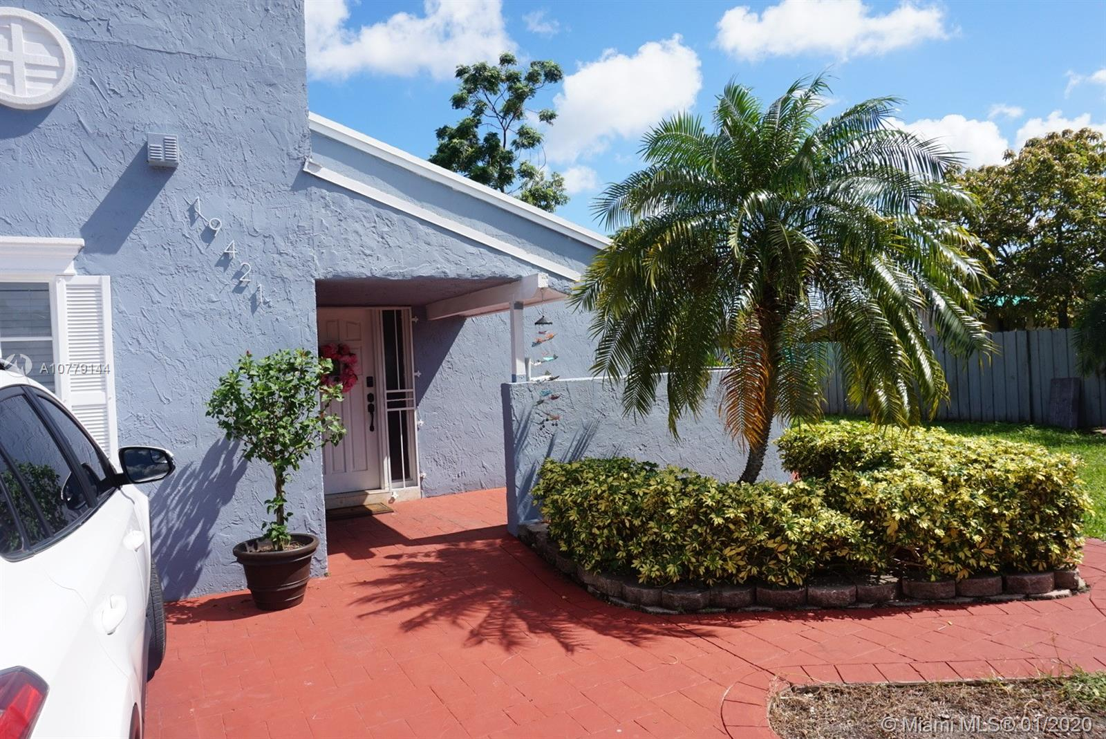 19421 SW 118th Ct  For Sale A10779144, FL