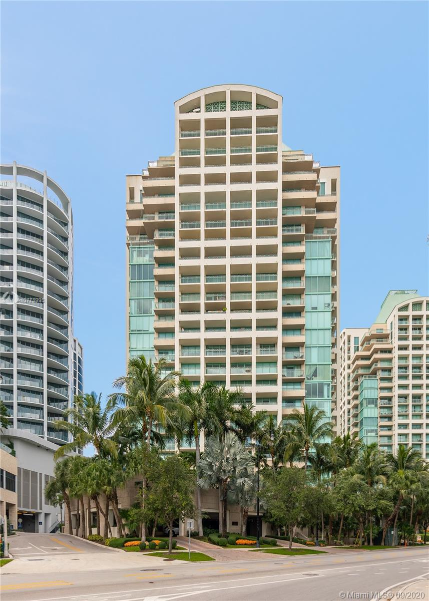 Globally recognized for distinction and outstanding service, this offer is the best opportunity to join the reknown Ritz Carlton community. Large Two Bedroom split plan with two masters, spacious balcony with exciting city views. Absolutely Move in ready, or priced to 'tweak' to taste. Residents enjoy a separate lobby, valet service for guests/or second car, private pool, gym, and can use many Ritz 5 STAR Hotel perks. Best location to partake in Coconut Groves upbeat lifestyle as well as short blocks to nearby Parks, Markets, Sailing clubs, Marina. Thirty day rentals allowed, a great incentive for 'Snowbirds'. Extremely Personable staff! On site manager, 24 hour security, valet & front desk attendants.