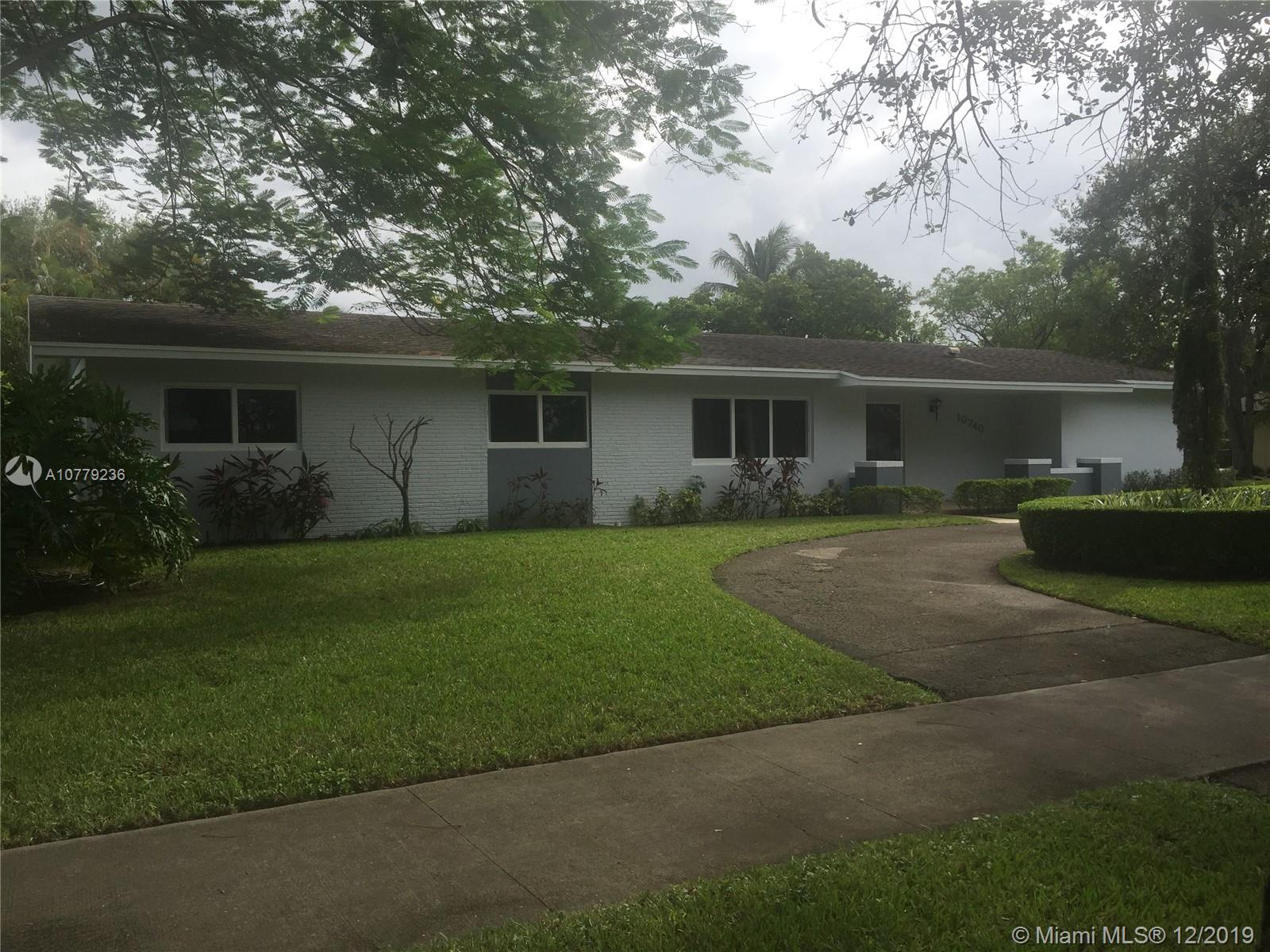 10740 SW 120th St  For Sale A10779236, FL