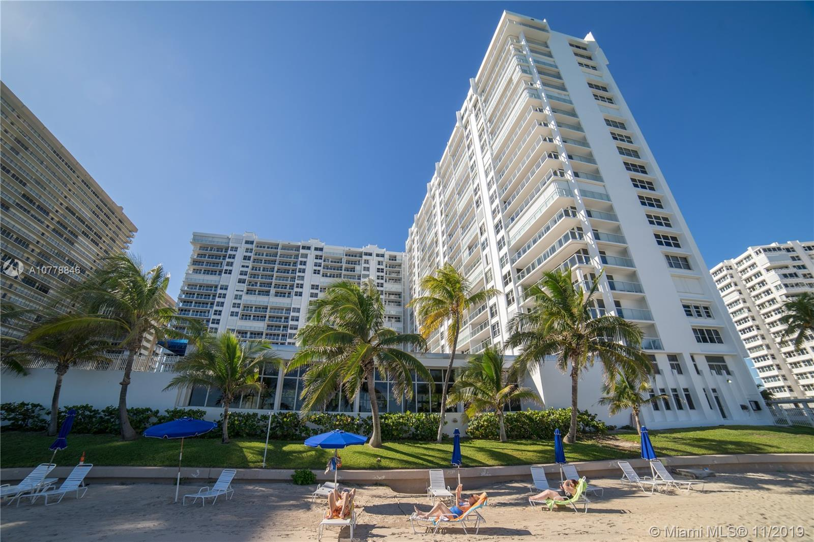 4300 N Ocean Blvd #5K For Sale A10778846, FL