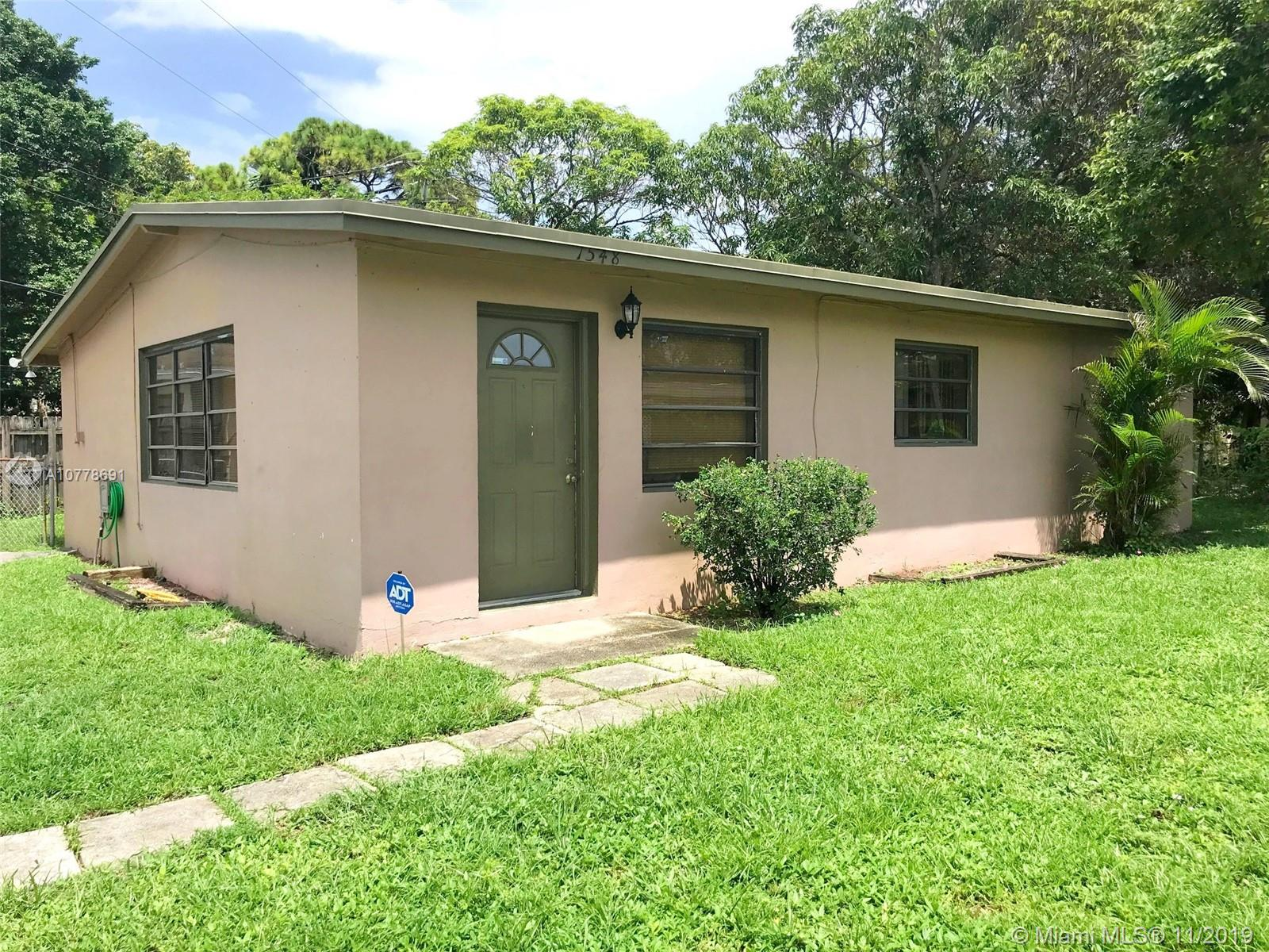 1548 NW 15th Ter  For Sale A10778691, FL