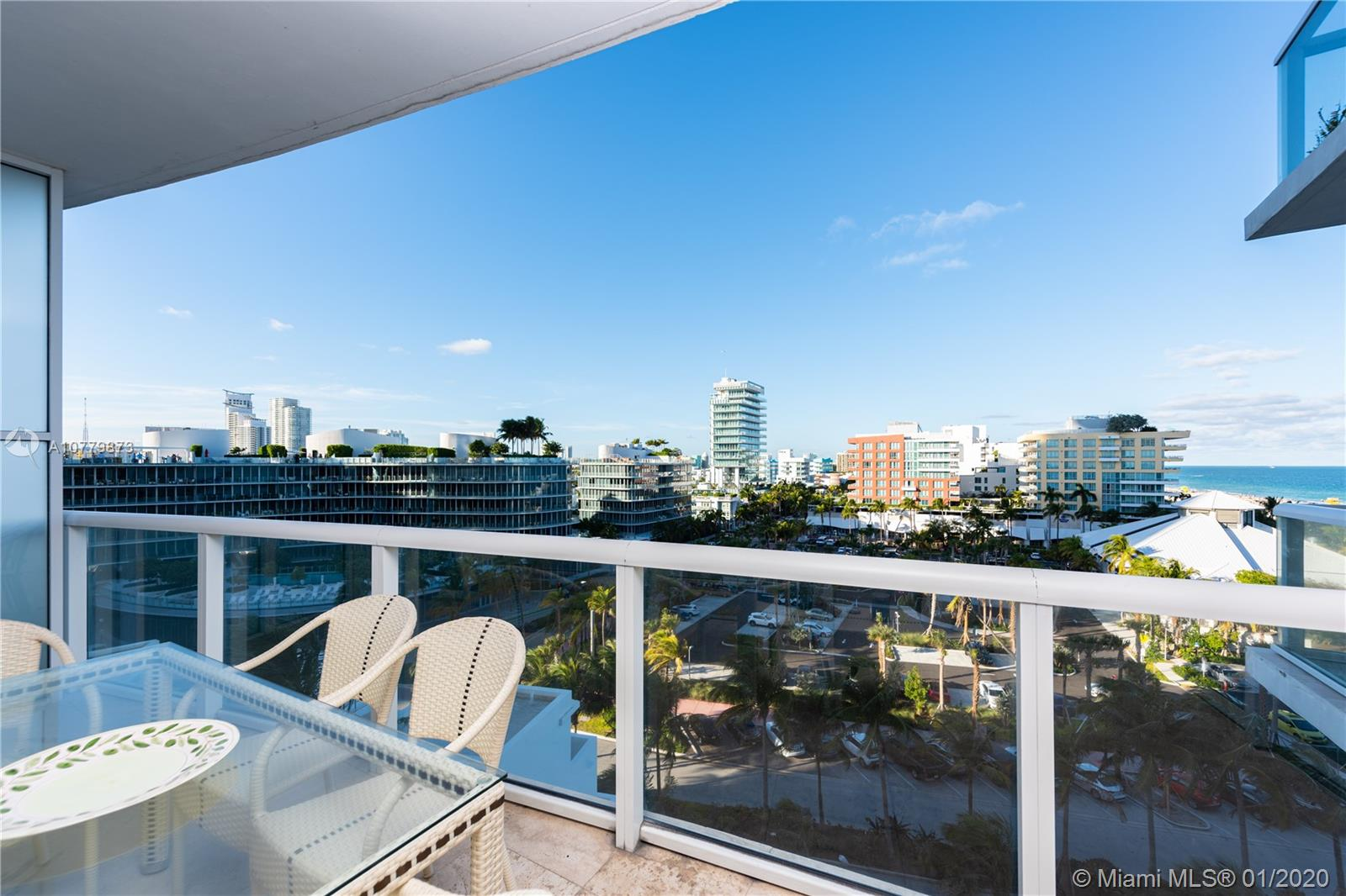 50 S Pointe Dr #907 For Sale A10779873, FL