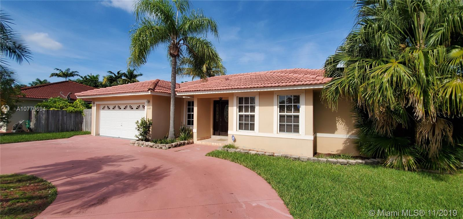 14489 SW 152nd Ter  For Sale A10779694, FL