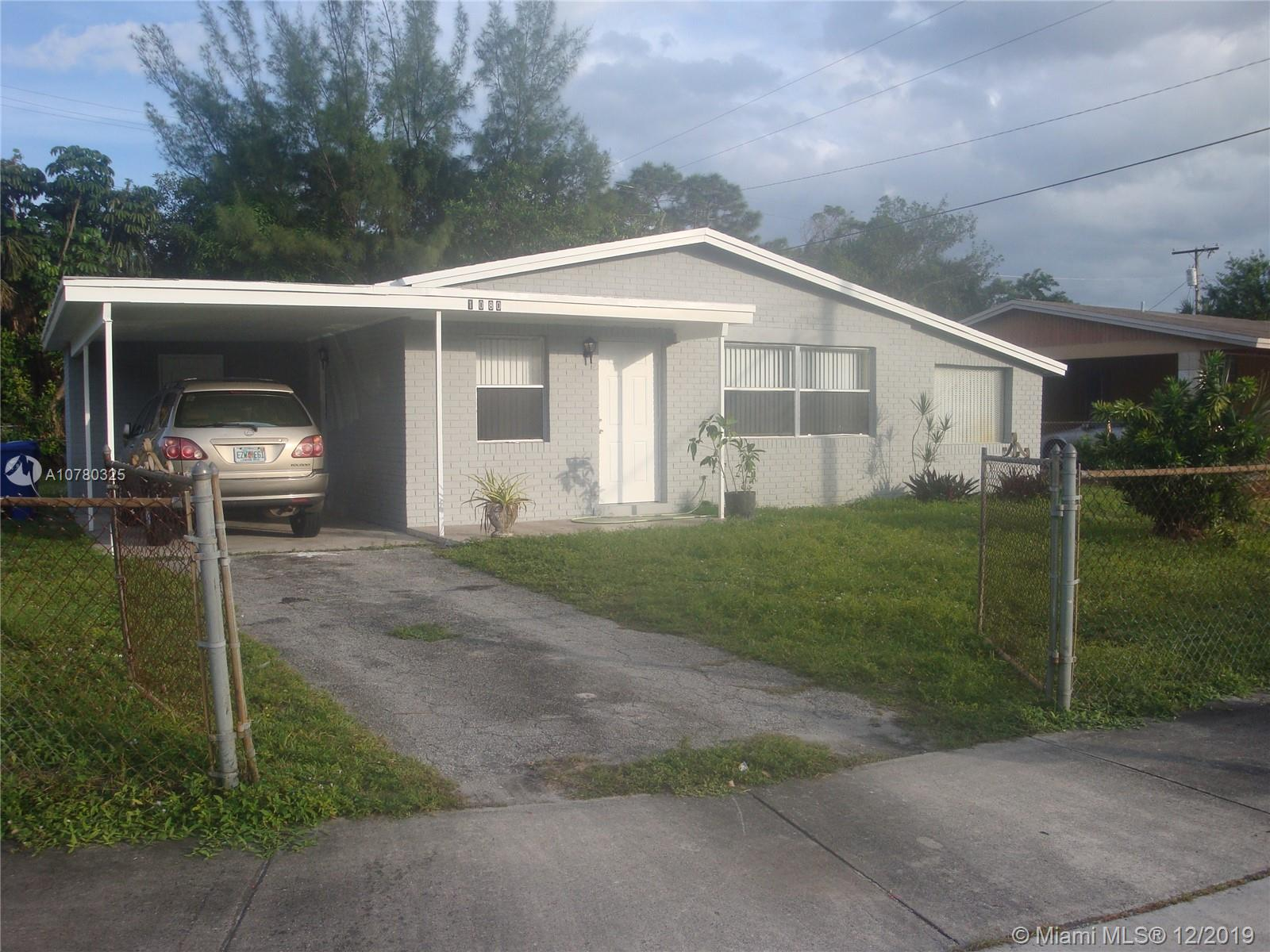 1080 NW 25th Way  For Sale A10780325, FL