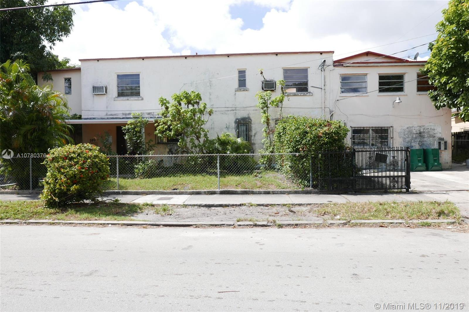 590 SW 23rd Ave  For Sale A10780376, FL