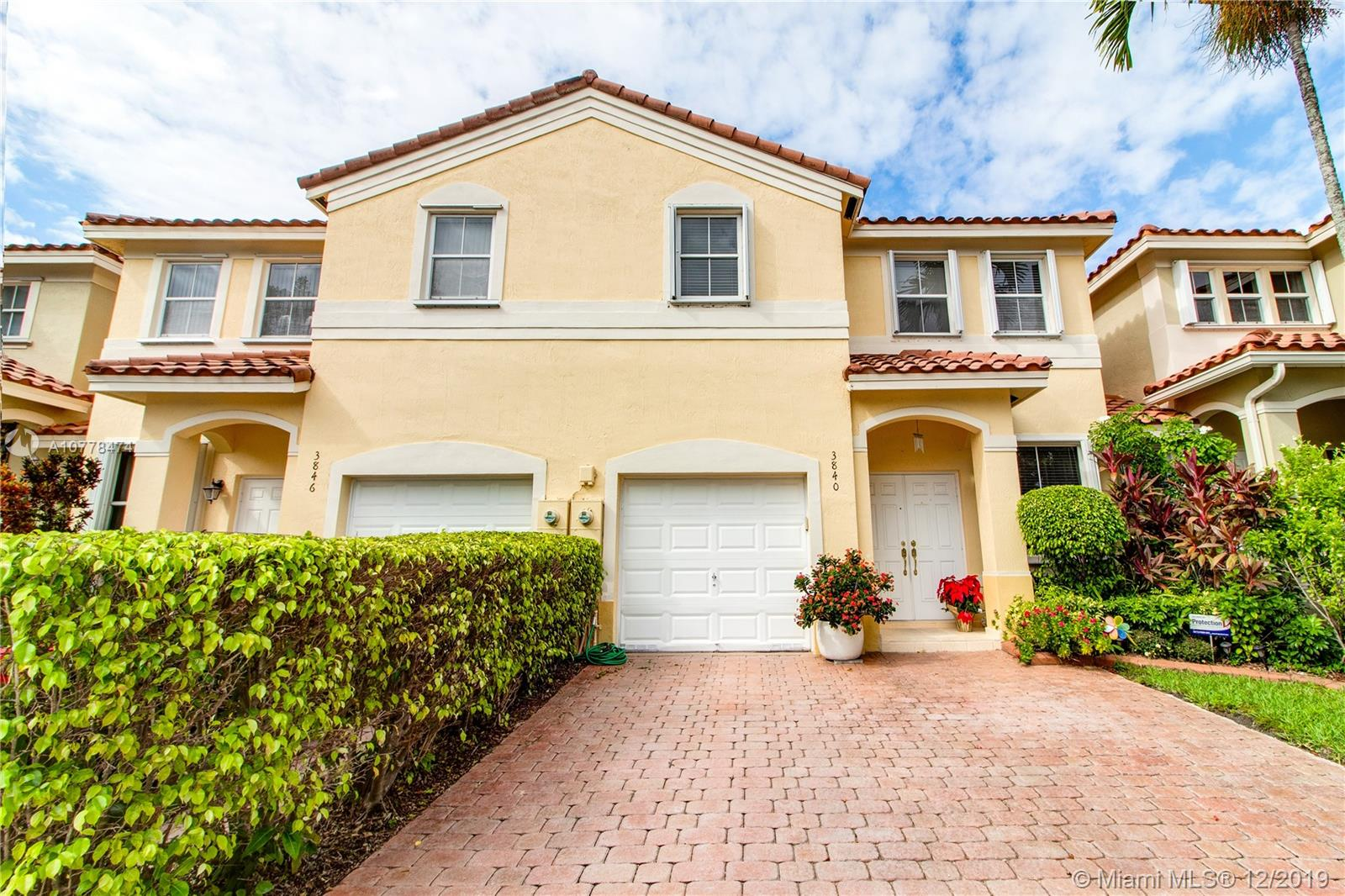 3840 SW 169th Ter #3840 For Sale A10778474, FL