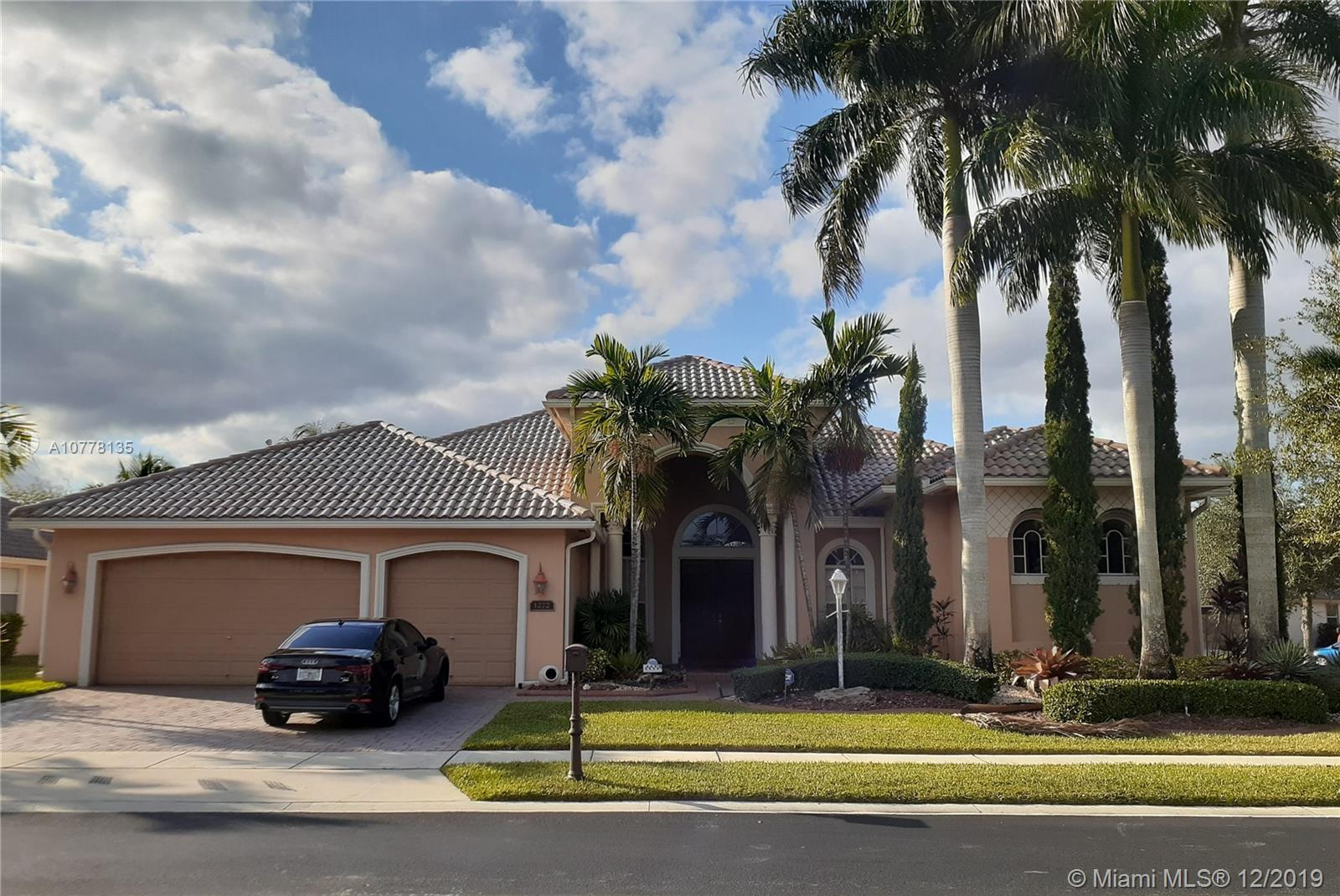 1272 NW 137th Ave  For Sale A10778135, FL