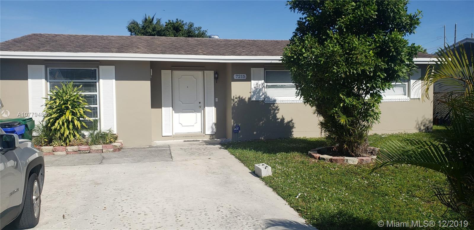 7215 Southgate Blvd, Margate, FL 33068