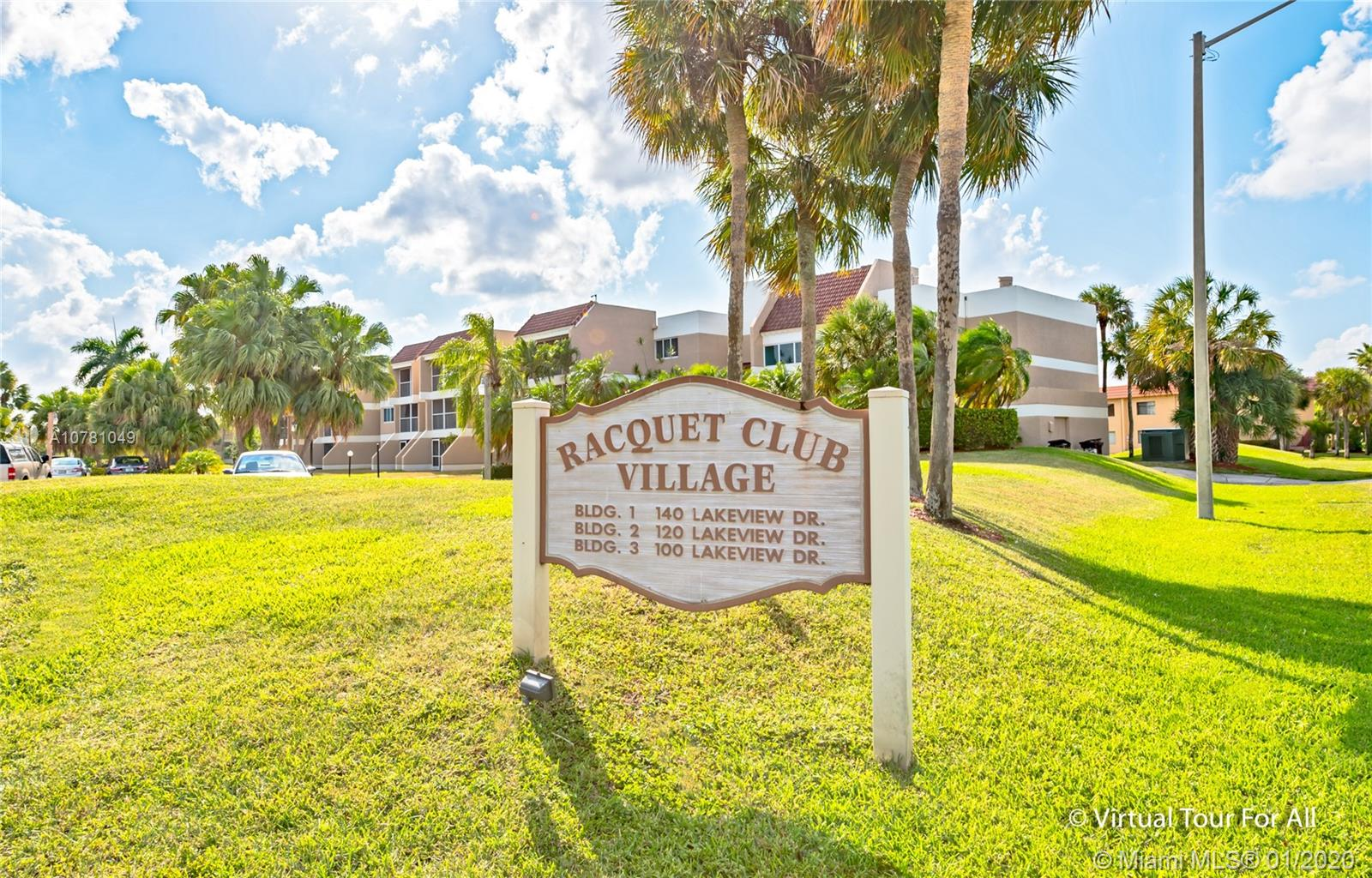 100  Lakeview Dr #314 For Sale A10781049, FL