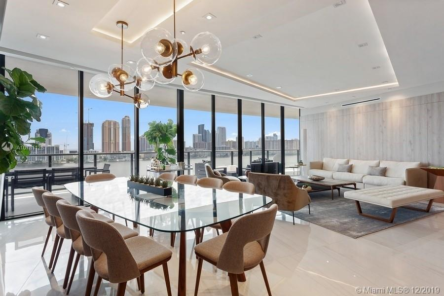 Brand new beautifully designed residence in Prive, Aventura's newest jewel. Magnificent 4 bedrooms and 5.5 bath residence with over 3,200 SF. Of living area. Beautiful flooring and lighting details throughout, custom closets and doors, and exquisite views of Intracoastal and the city. Incredible building amenities include marina, tennis, private beach, billiards, teen and children's room, restaurant, bar and spa.