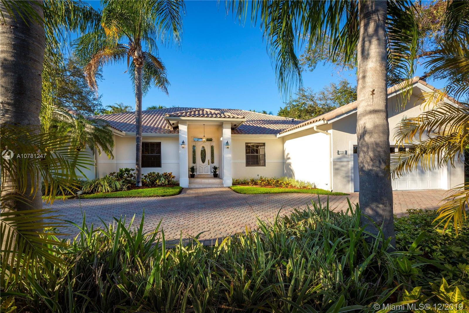 7721 SW 177th St  For Sale A10781247, FL