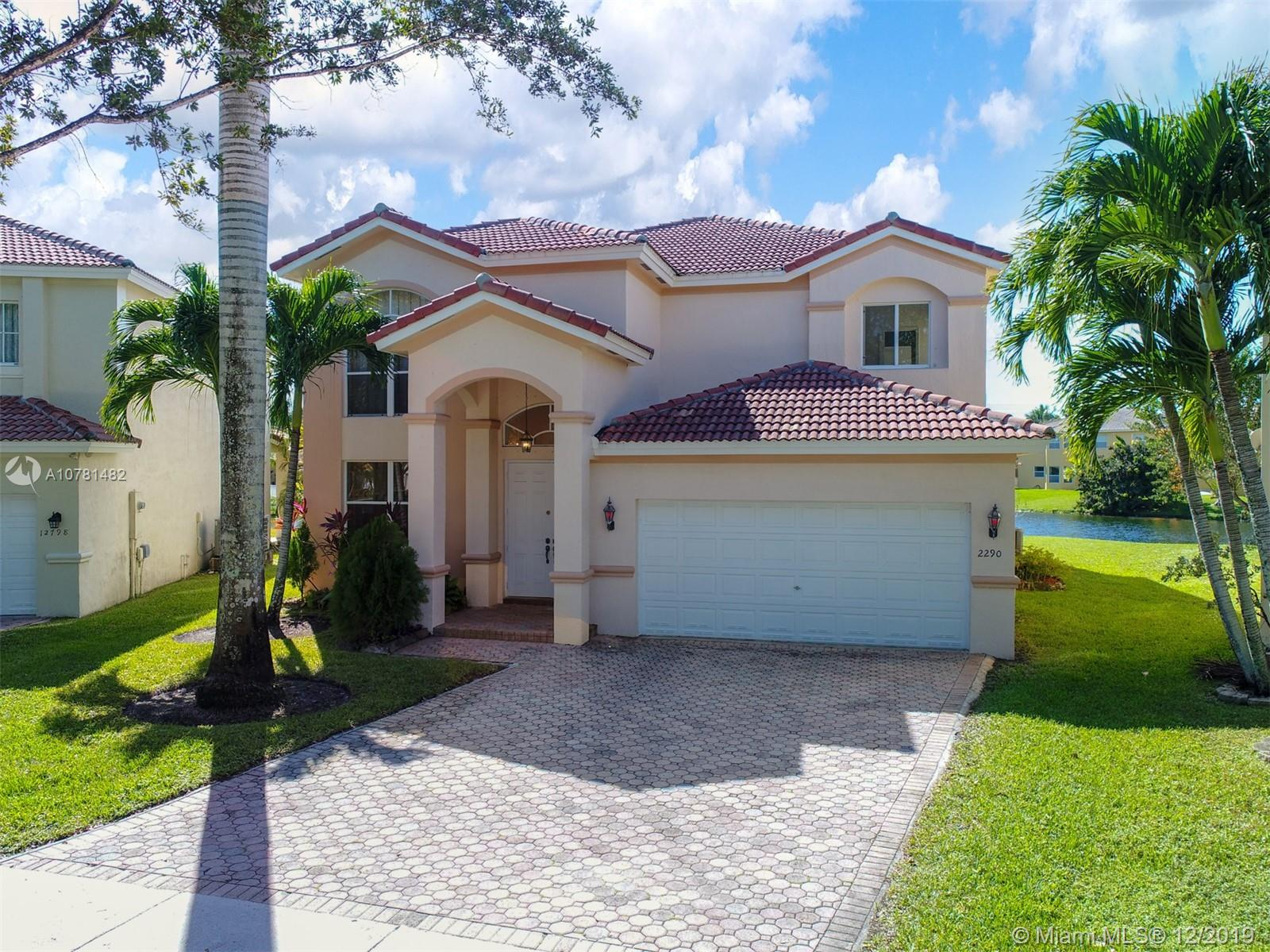2290 SW 128th Ave  For Sale A10781482, FL