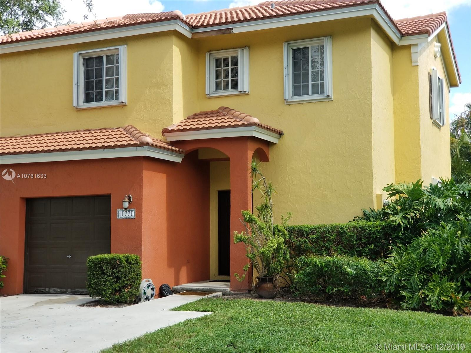 10330 SW 19th St  For Sale A10781633, FL