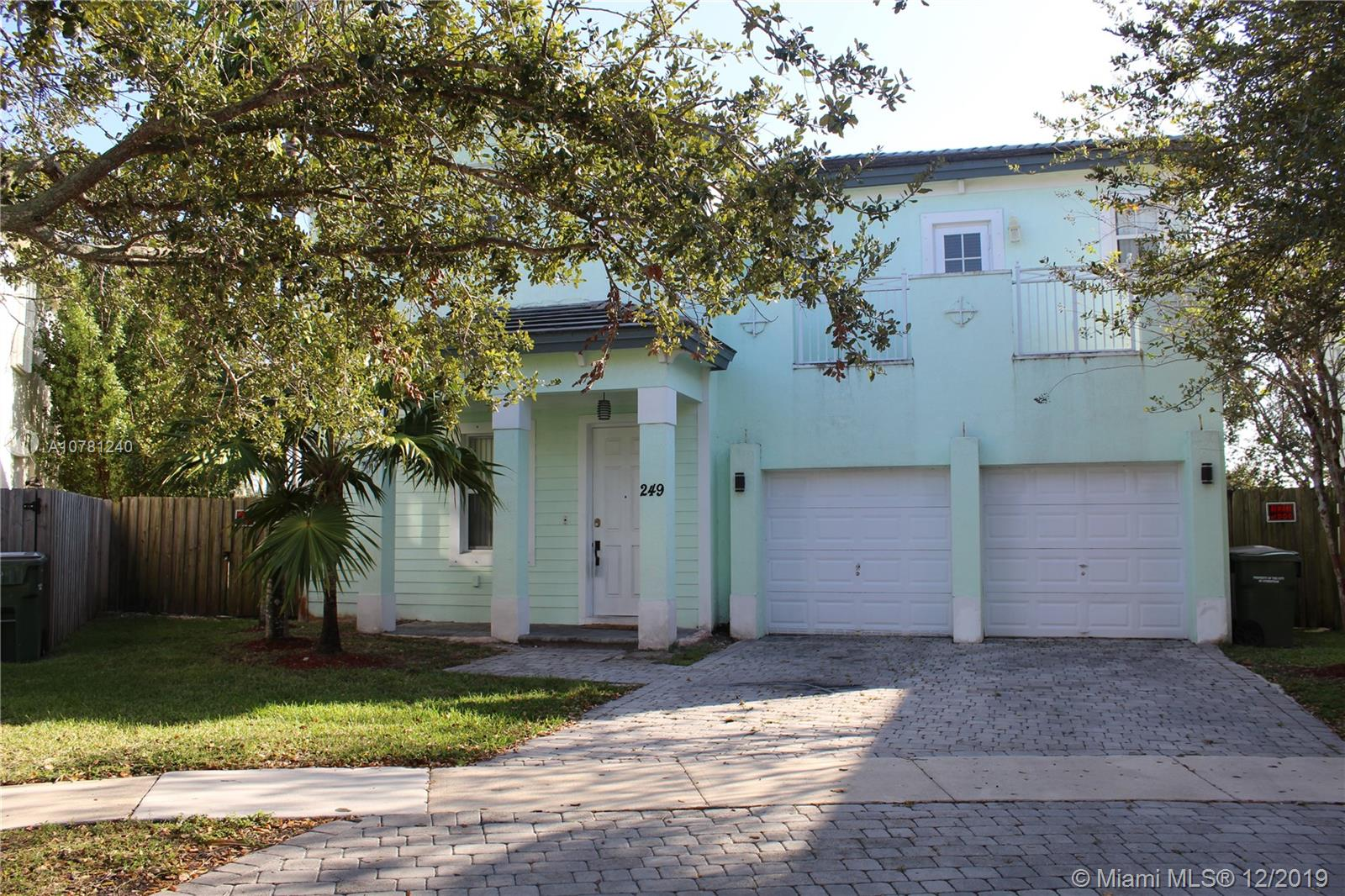 249 NE 32nd Ter  For Sale A10781240, FL