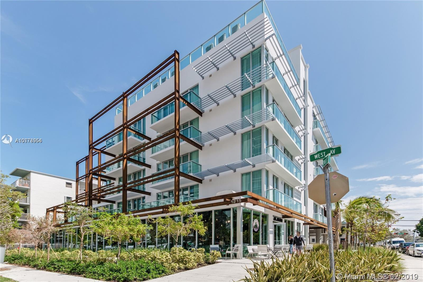1215  West Ave #402 For Sale A10778956, FL