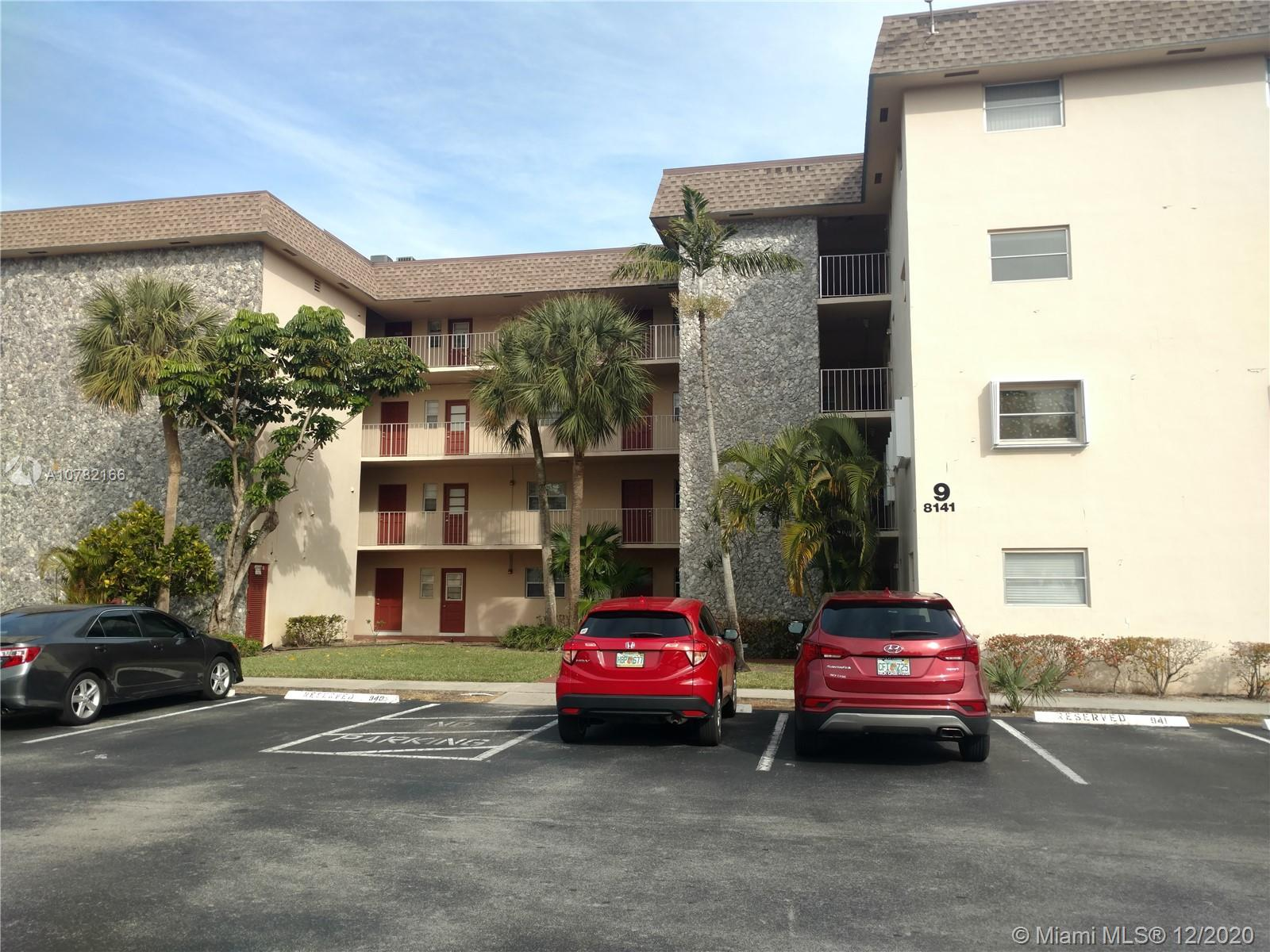 8141 SW 24th Ct #305 For Sale A10782166, FL