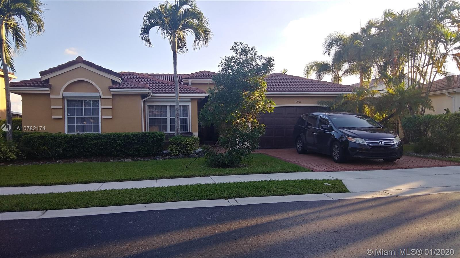 19978 SW 3rd Pl  For Sale A10782174, FL