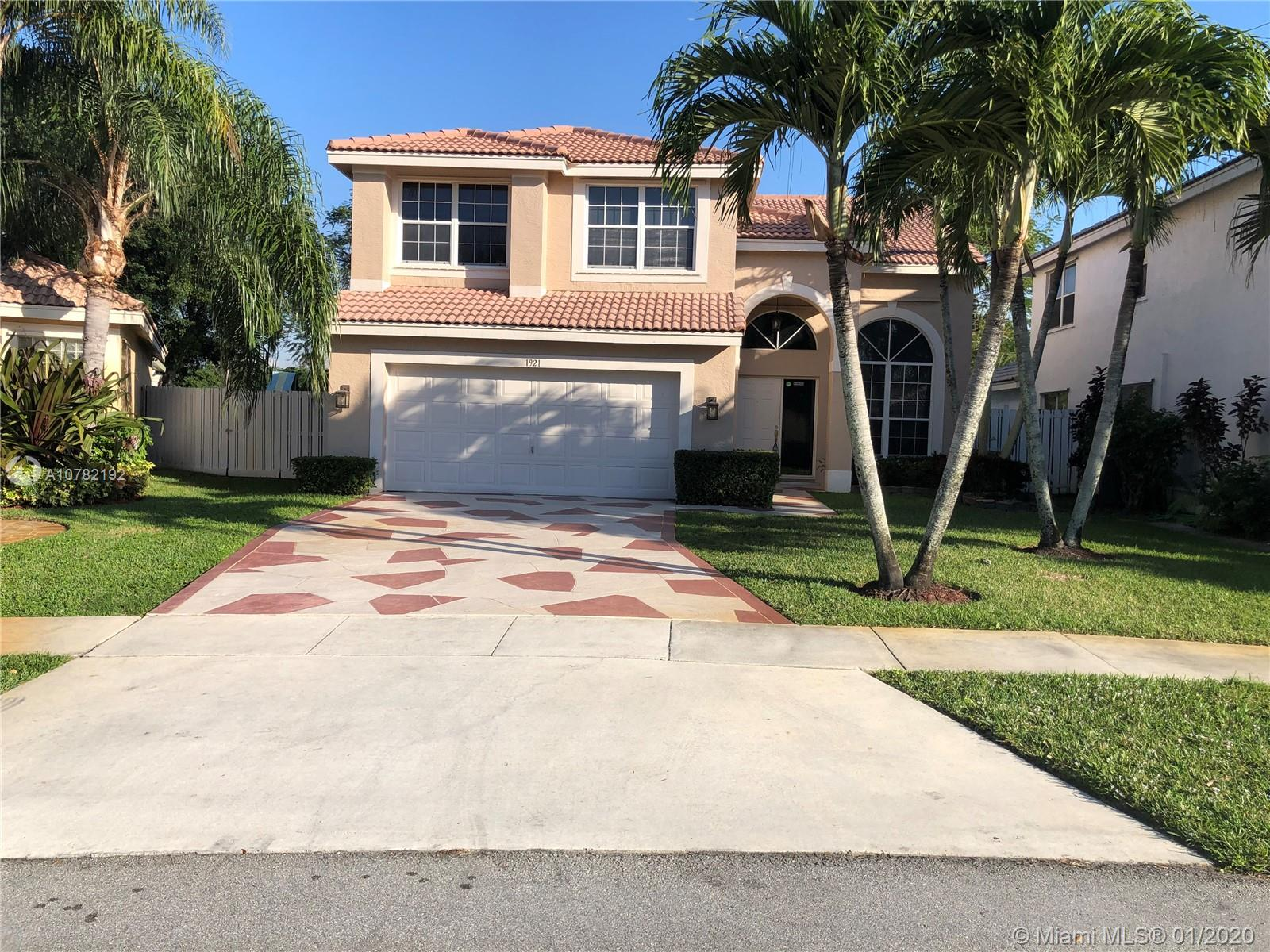1921 SW 179th Ave  For Sale A10782192, FL