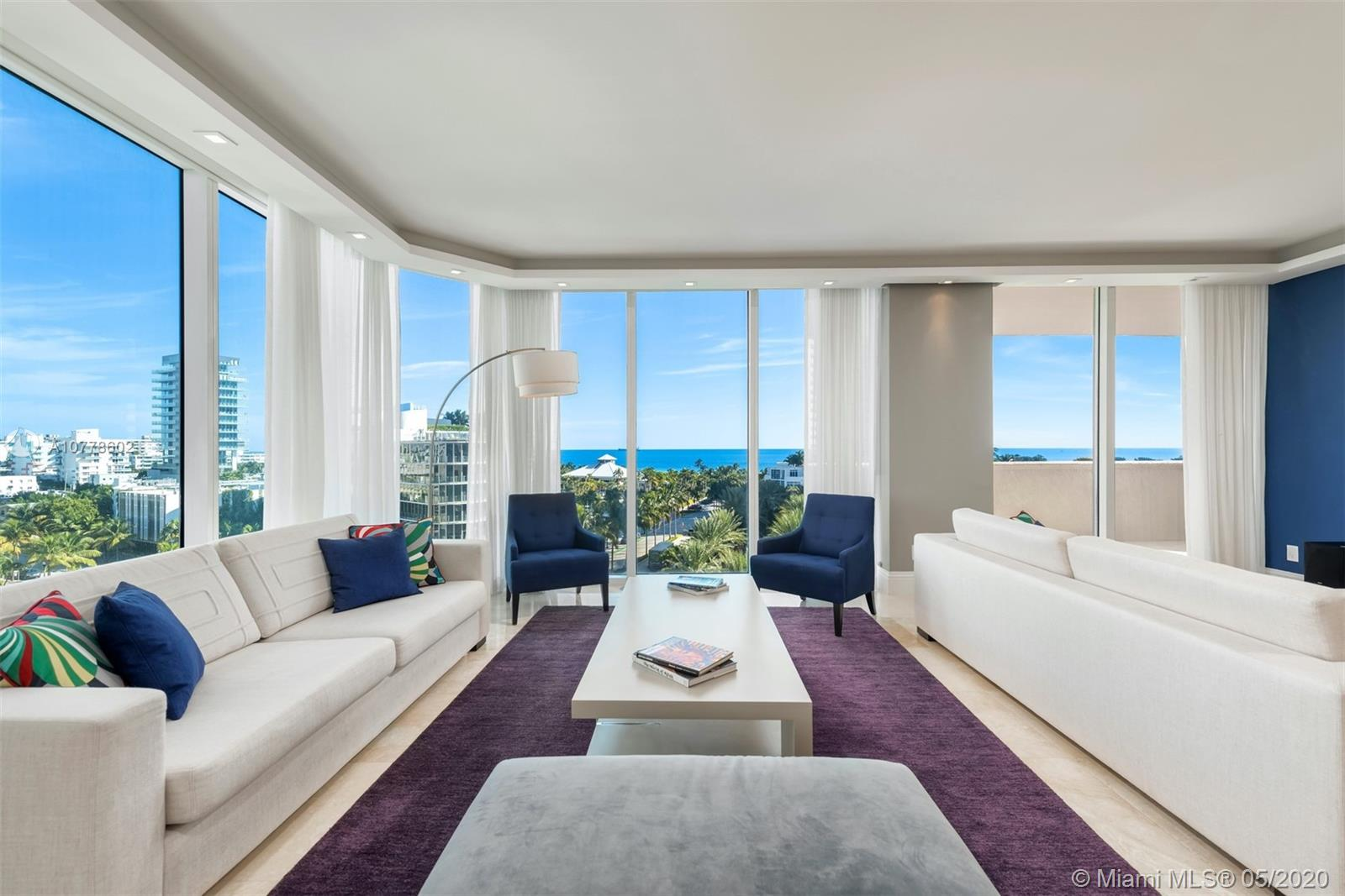 300 S Pointe Dr #805 For Sale A10778602, FL