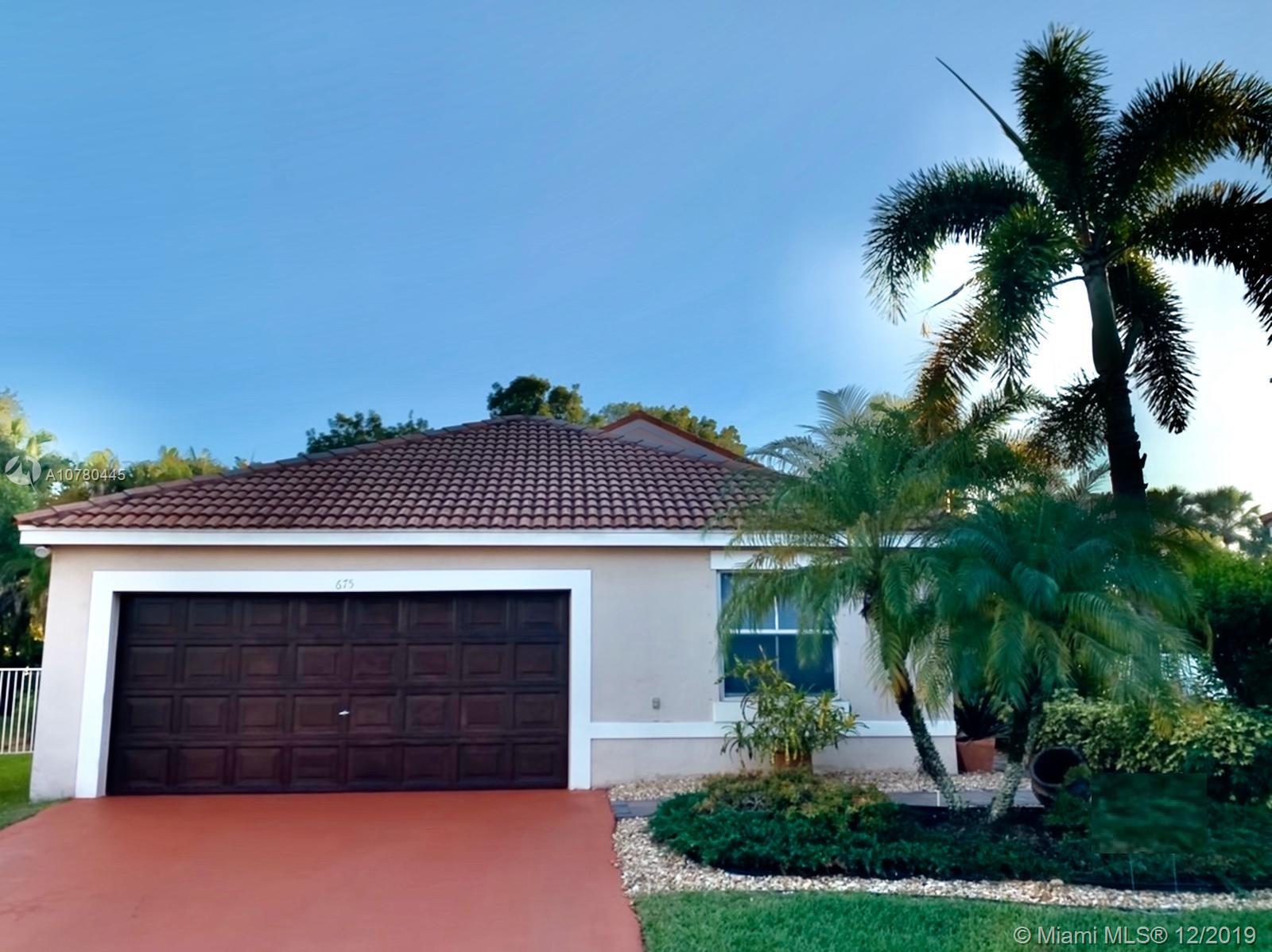 675 Lone Pine Ln, Weston FL 33327