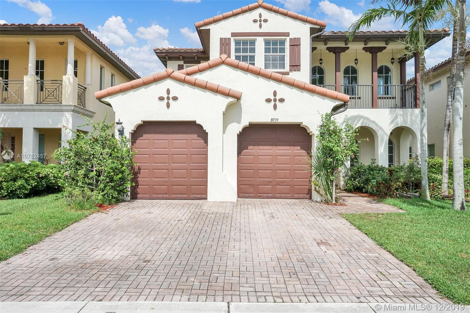 8039 NW 126th Ter  For Sale A10782457, FL