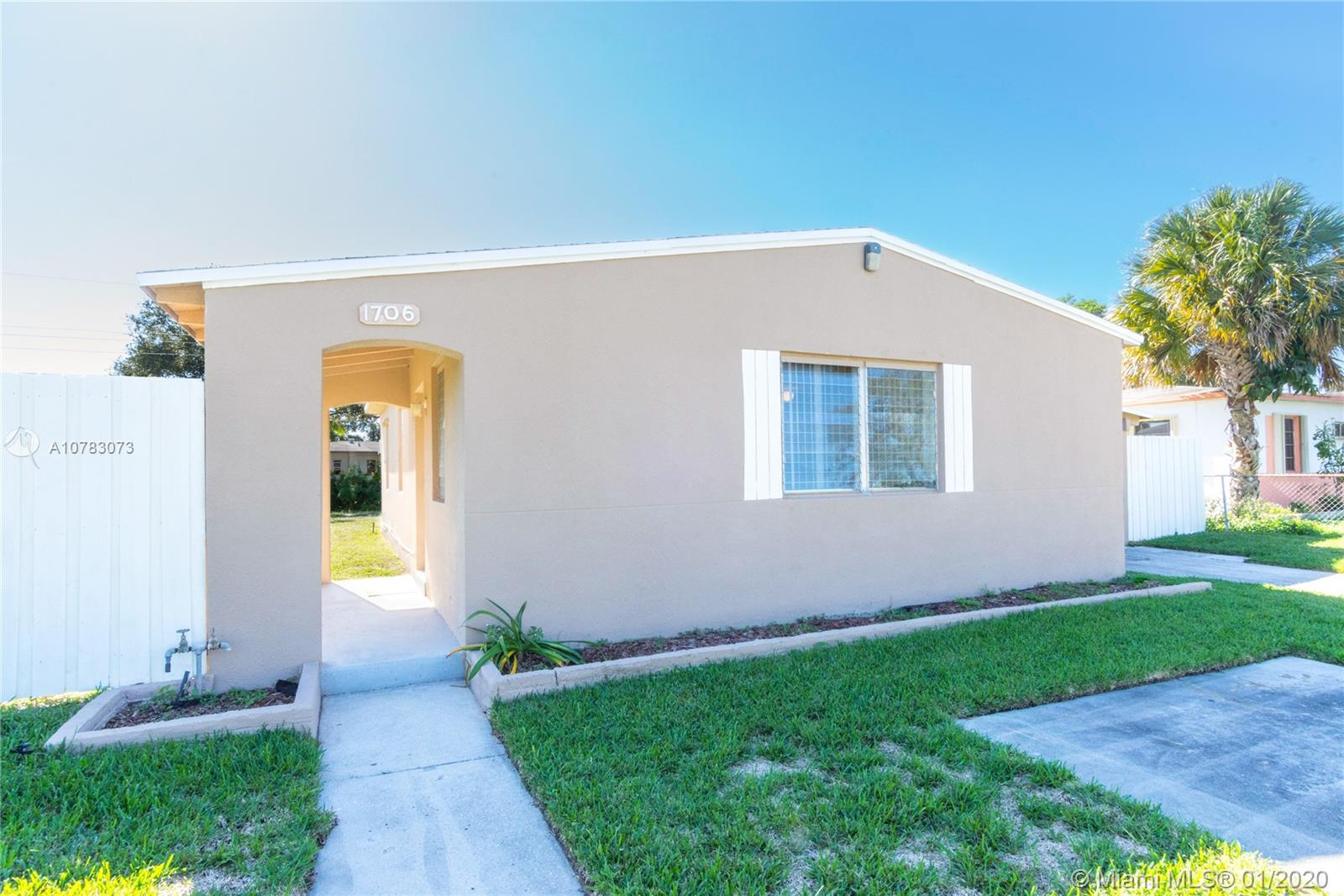 1706 NW 13th Ct  For Sale A10783073, FL