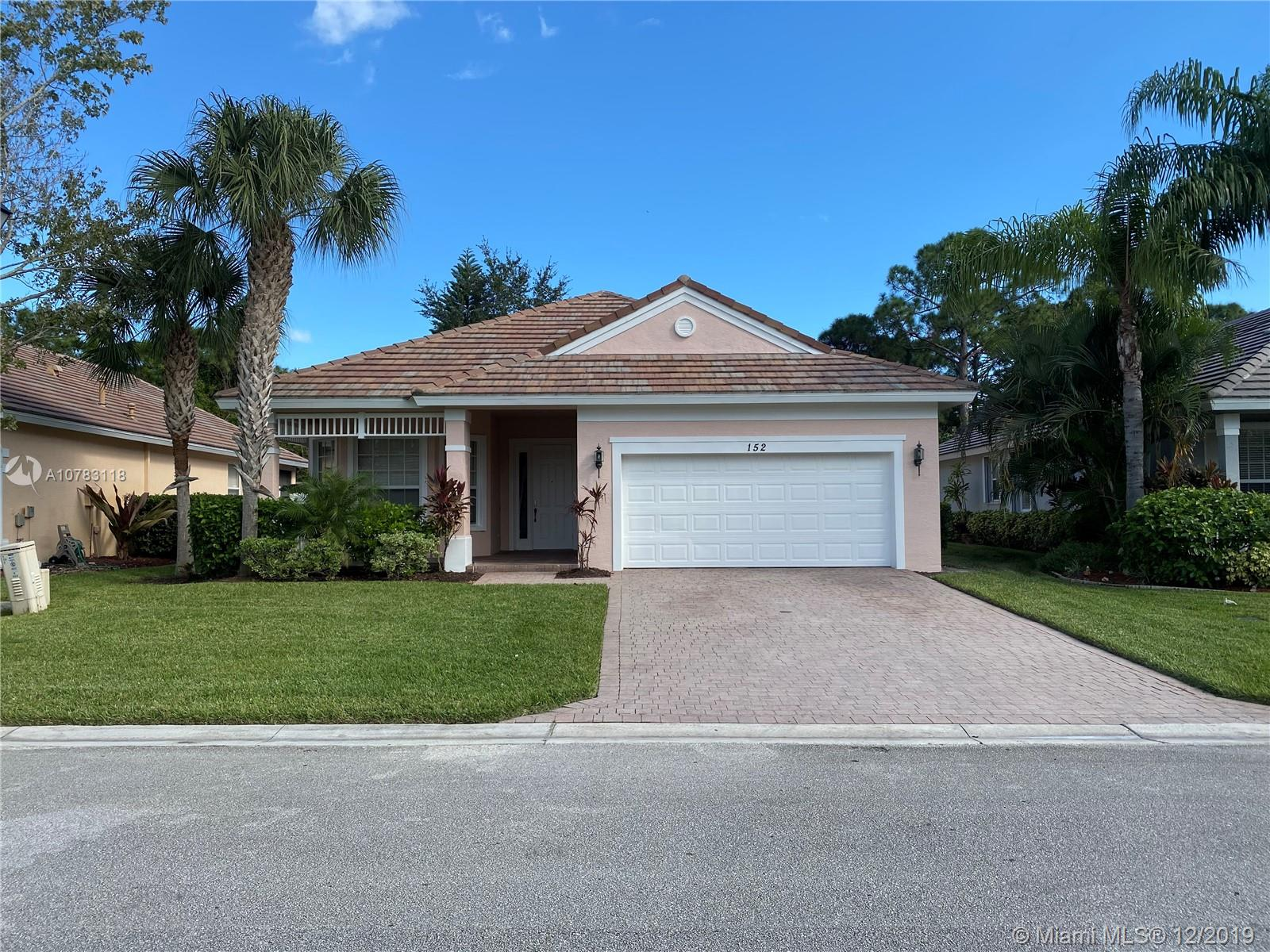 152 NW Pleasant Grove Way 152, Port St. Lucie, FL 34986