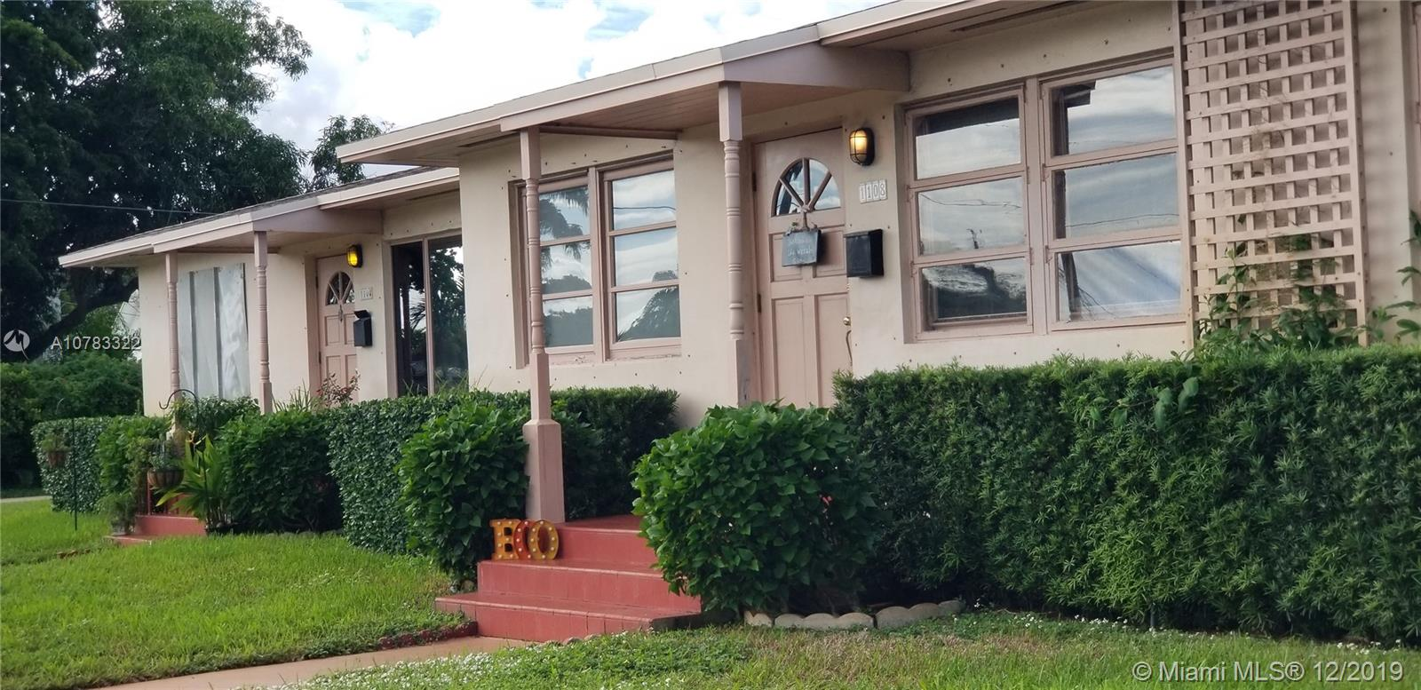 1104 N 16th Ct  For Sale A10783322, FL