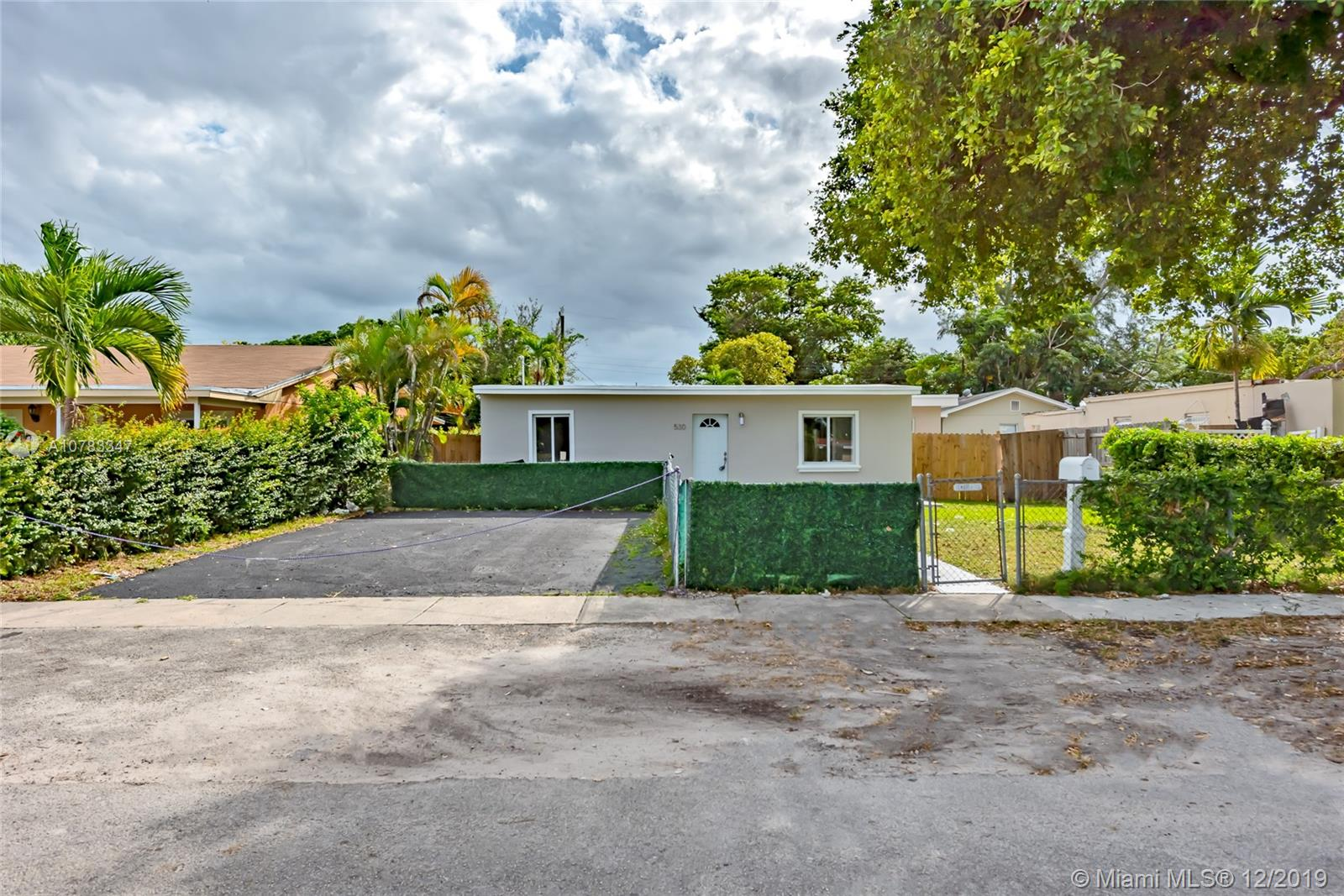 530 NW 130th St  For Sale A10783347, FL