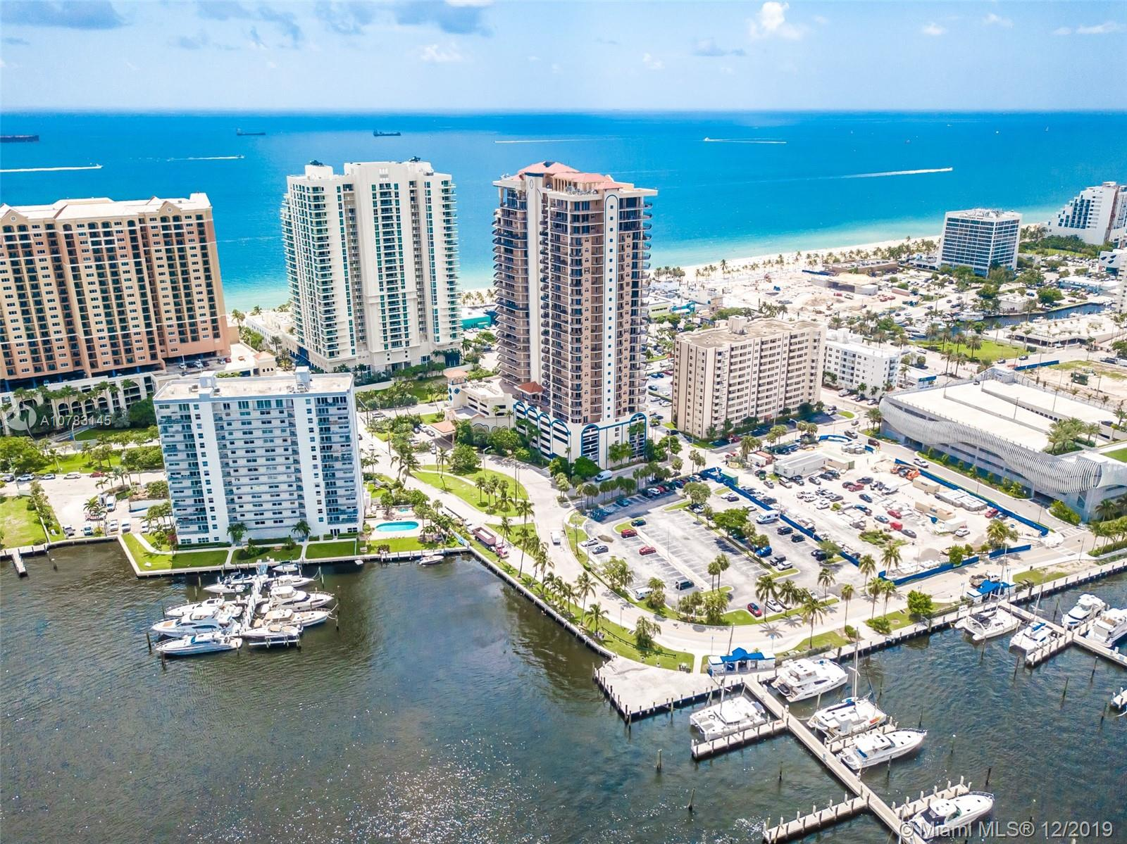 100 S Birch road #1003 For Sale A10783145, FL
